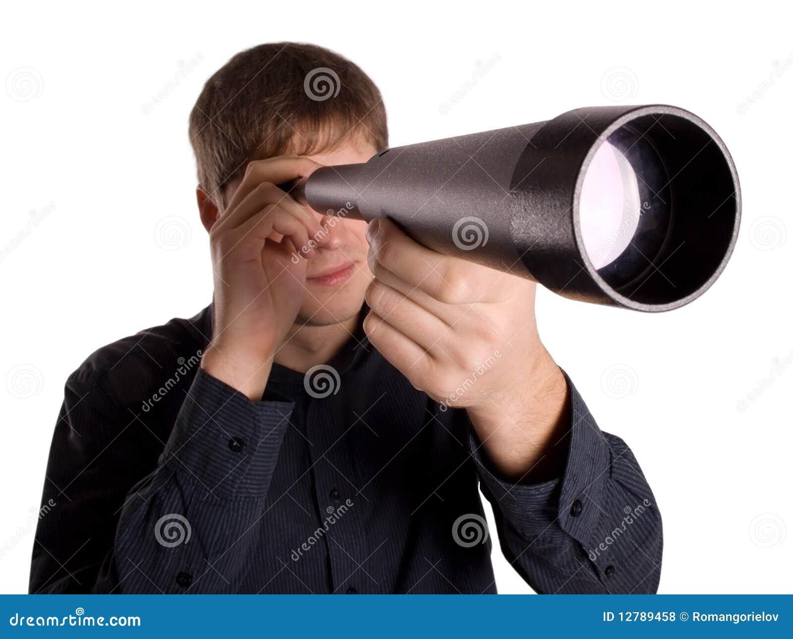 查找人望远镜