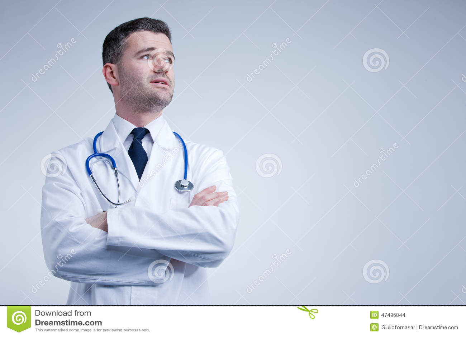 查找的医生认为或担心