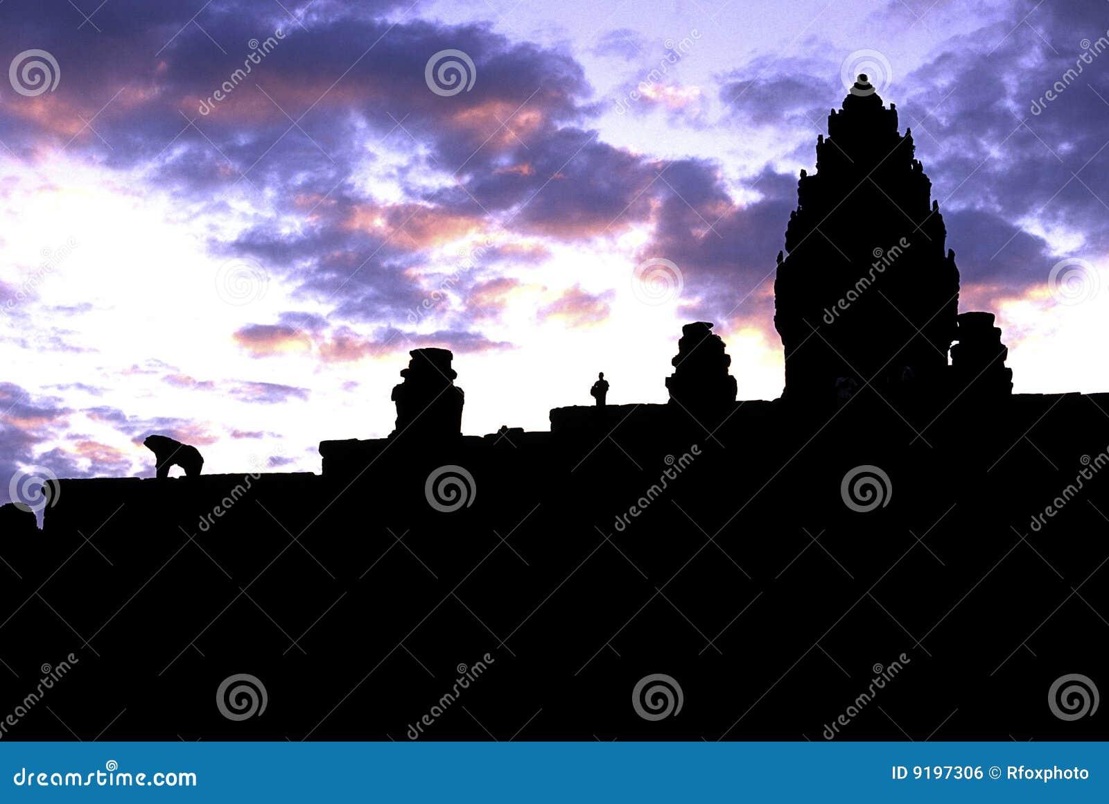柬埔寨废墟