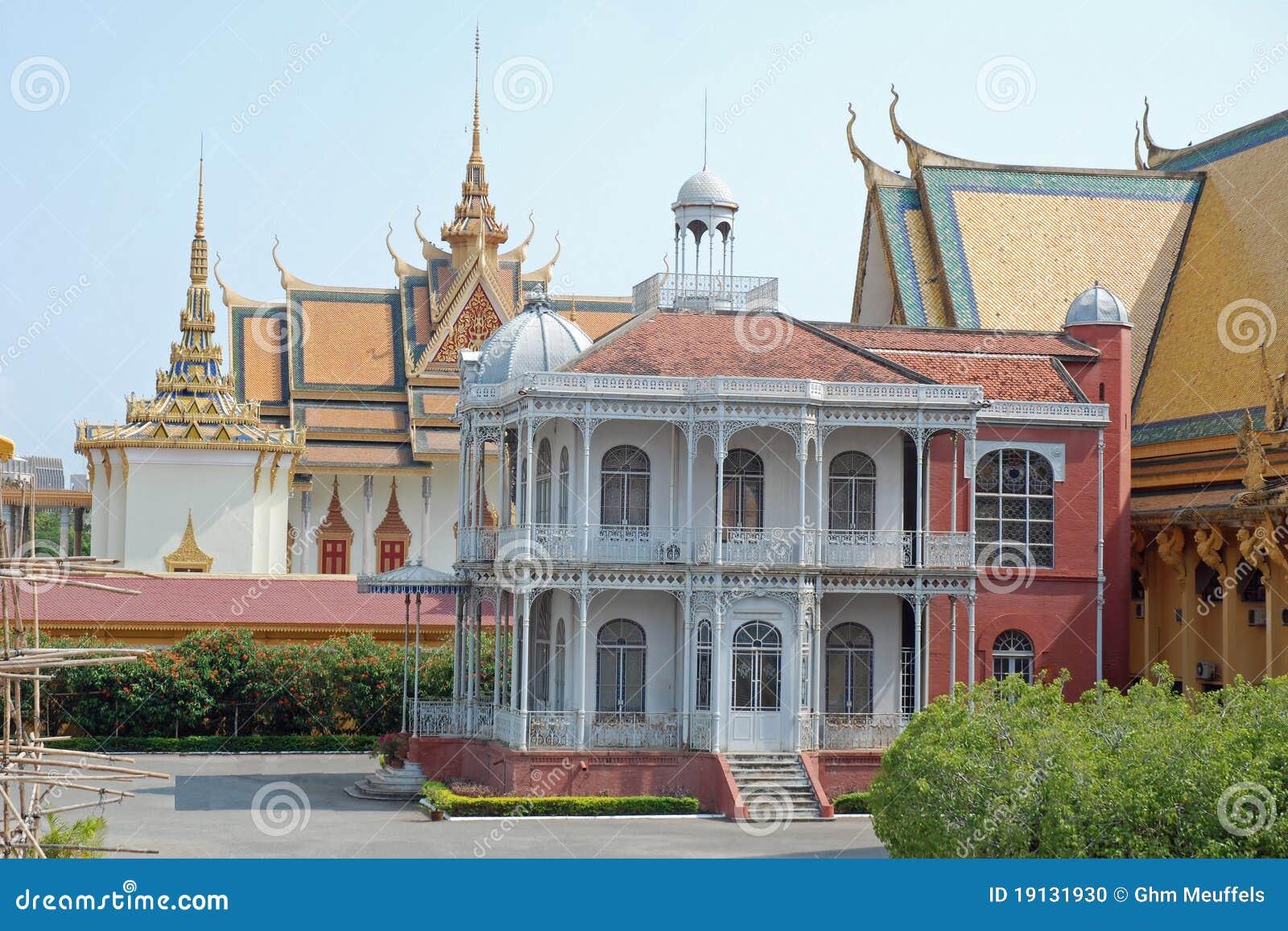 柬埔寨拿破仑宫殿penh phnom皇家别墅