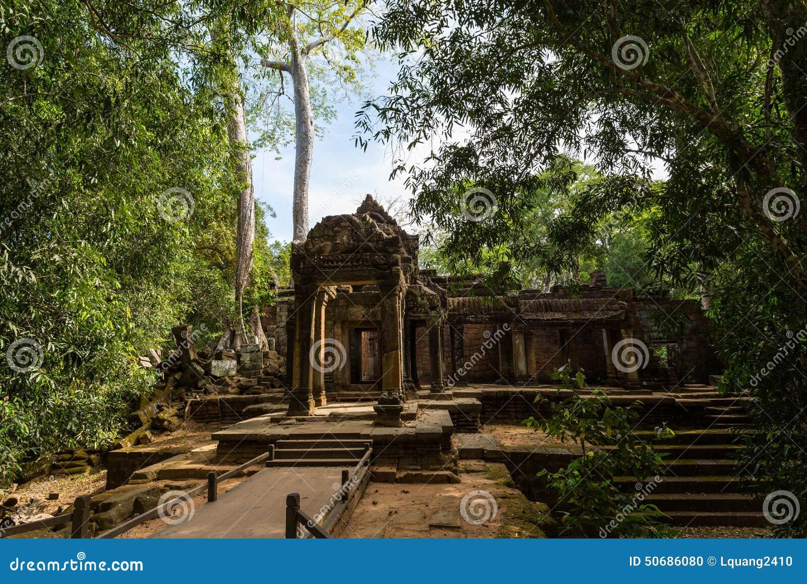 Download 柬埔寨prohm ta寺庙 库存照片. 图片 包括有 纪念碑, 柬埔寨, 的btu, 遗产, 文化, 有历史 - 50686080