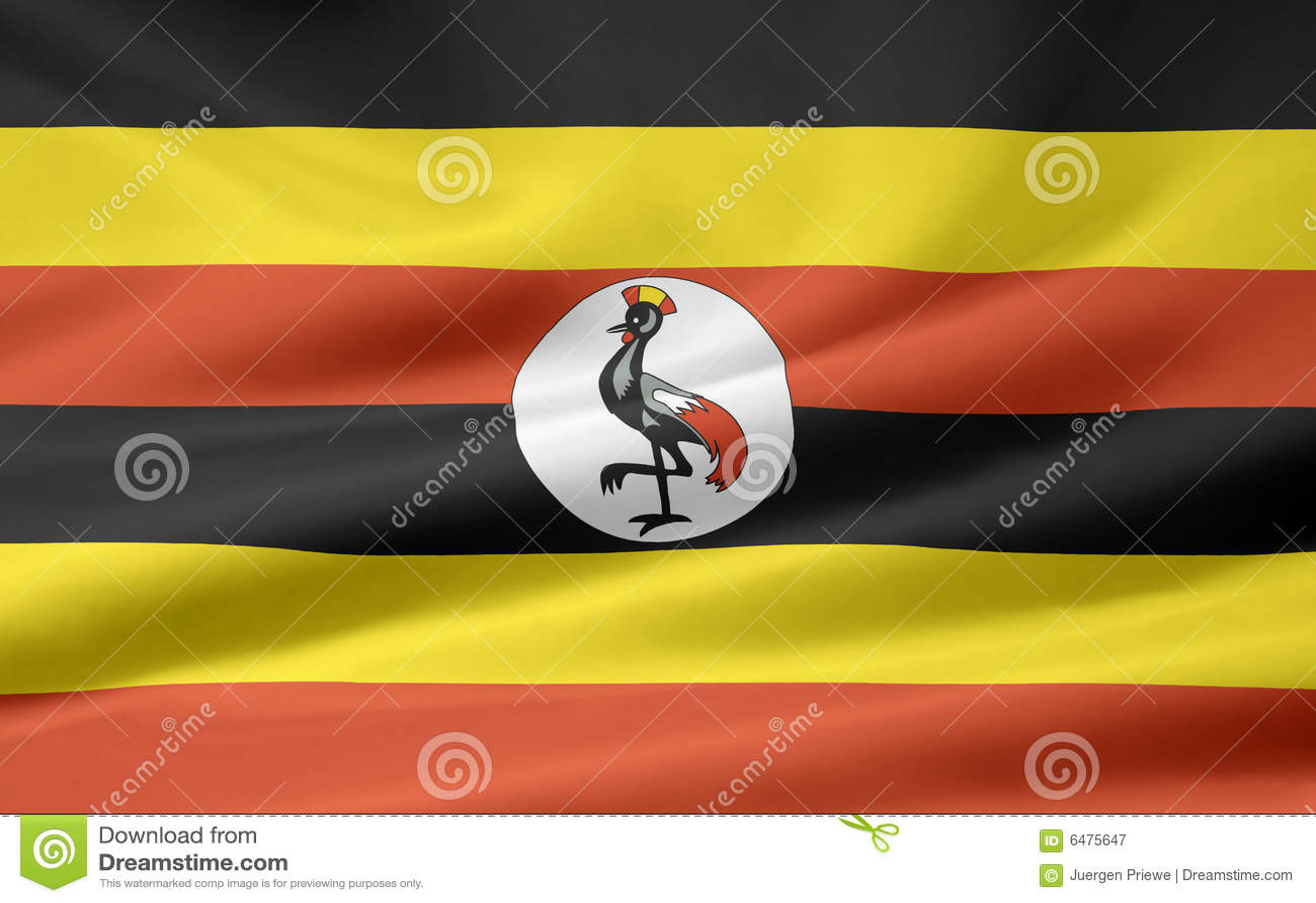 标志乌干达