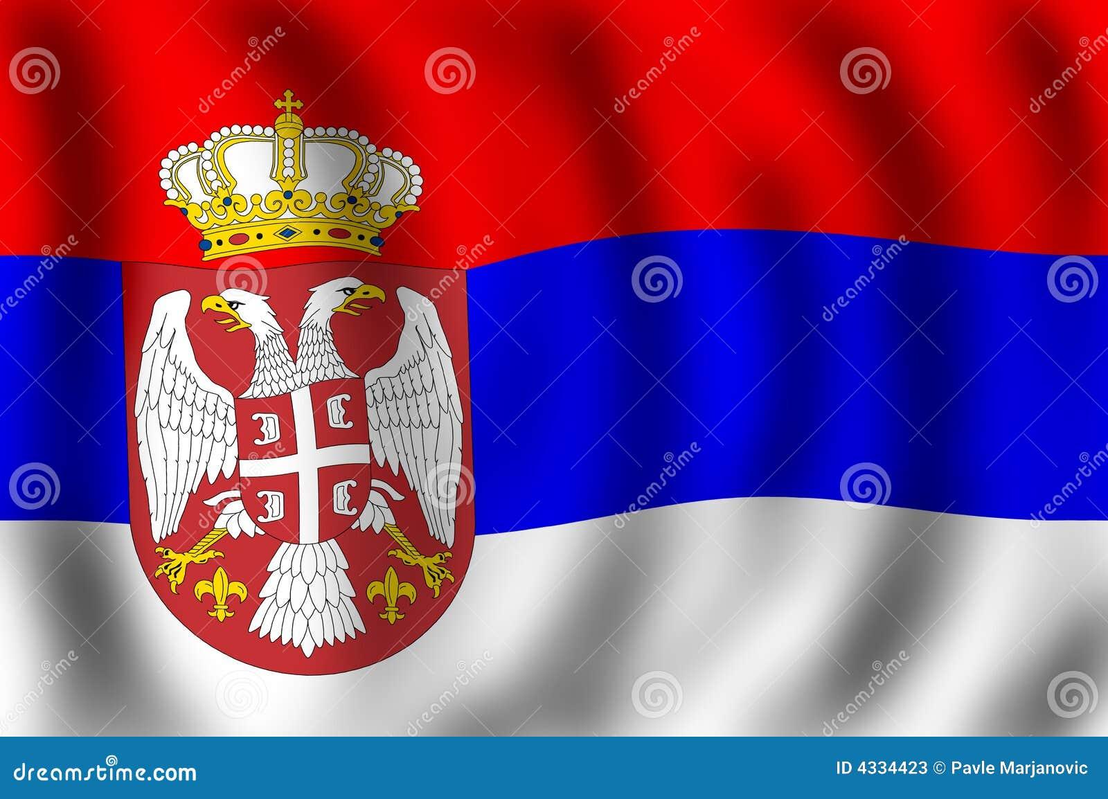 标志共和国塞尔维亚