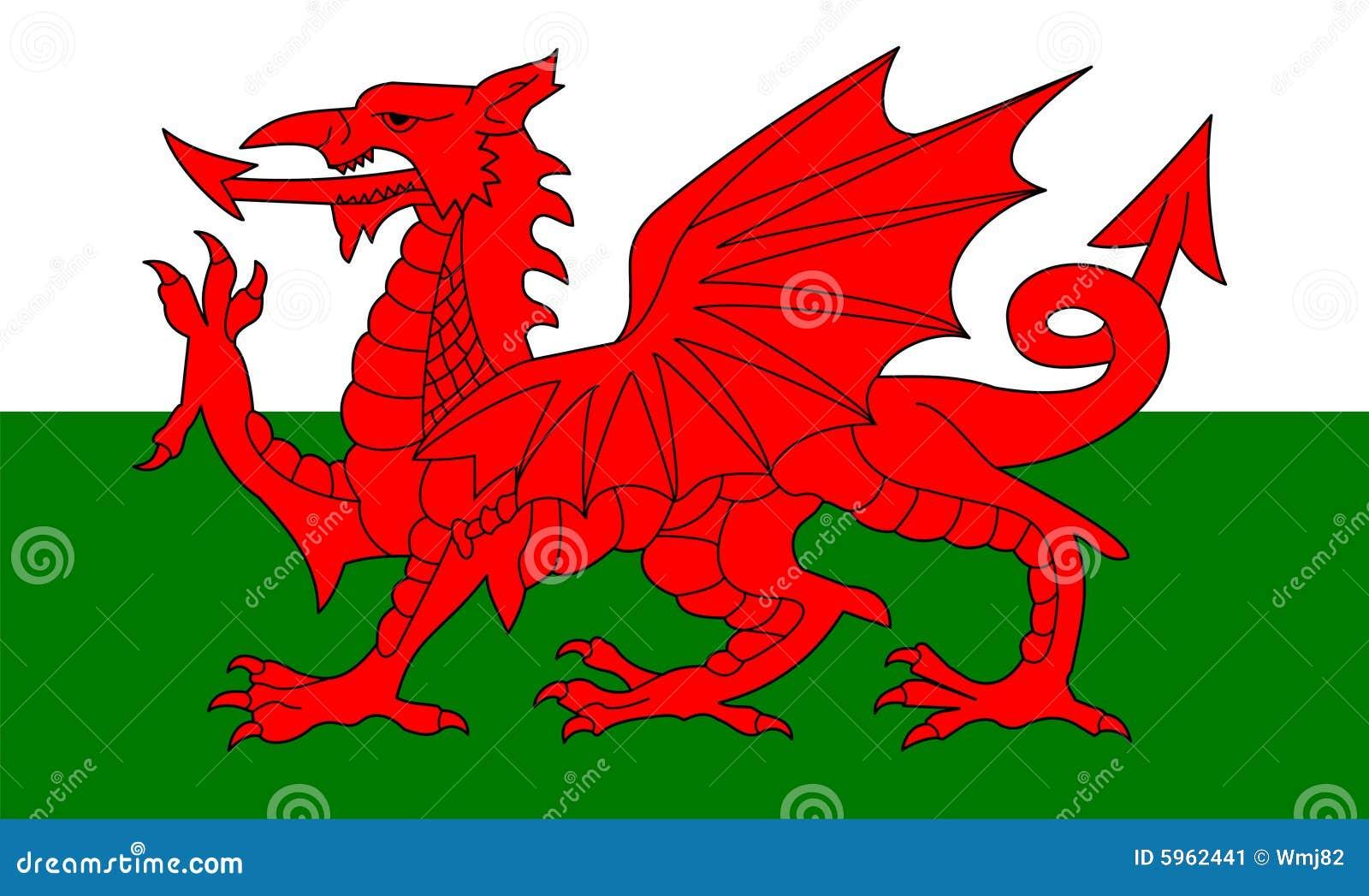标志威尔士