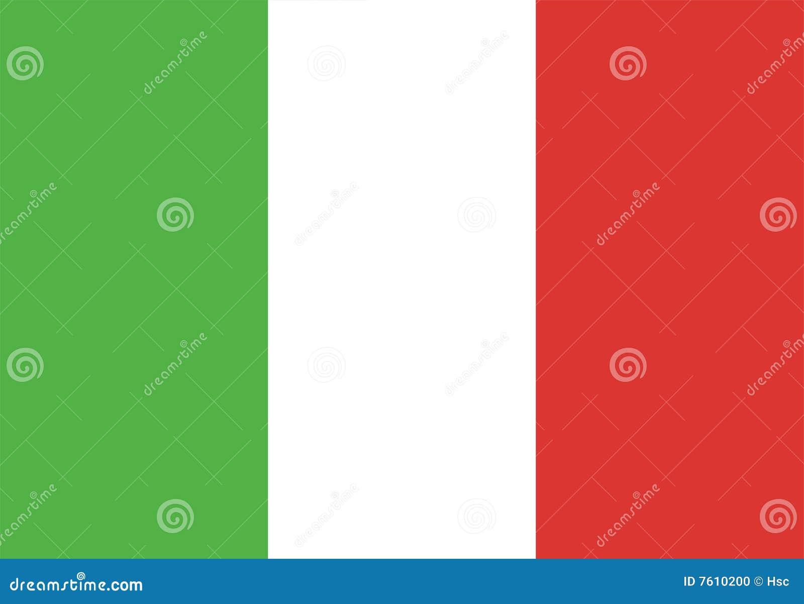 标志意大利
