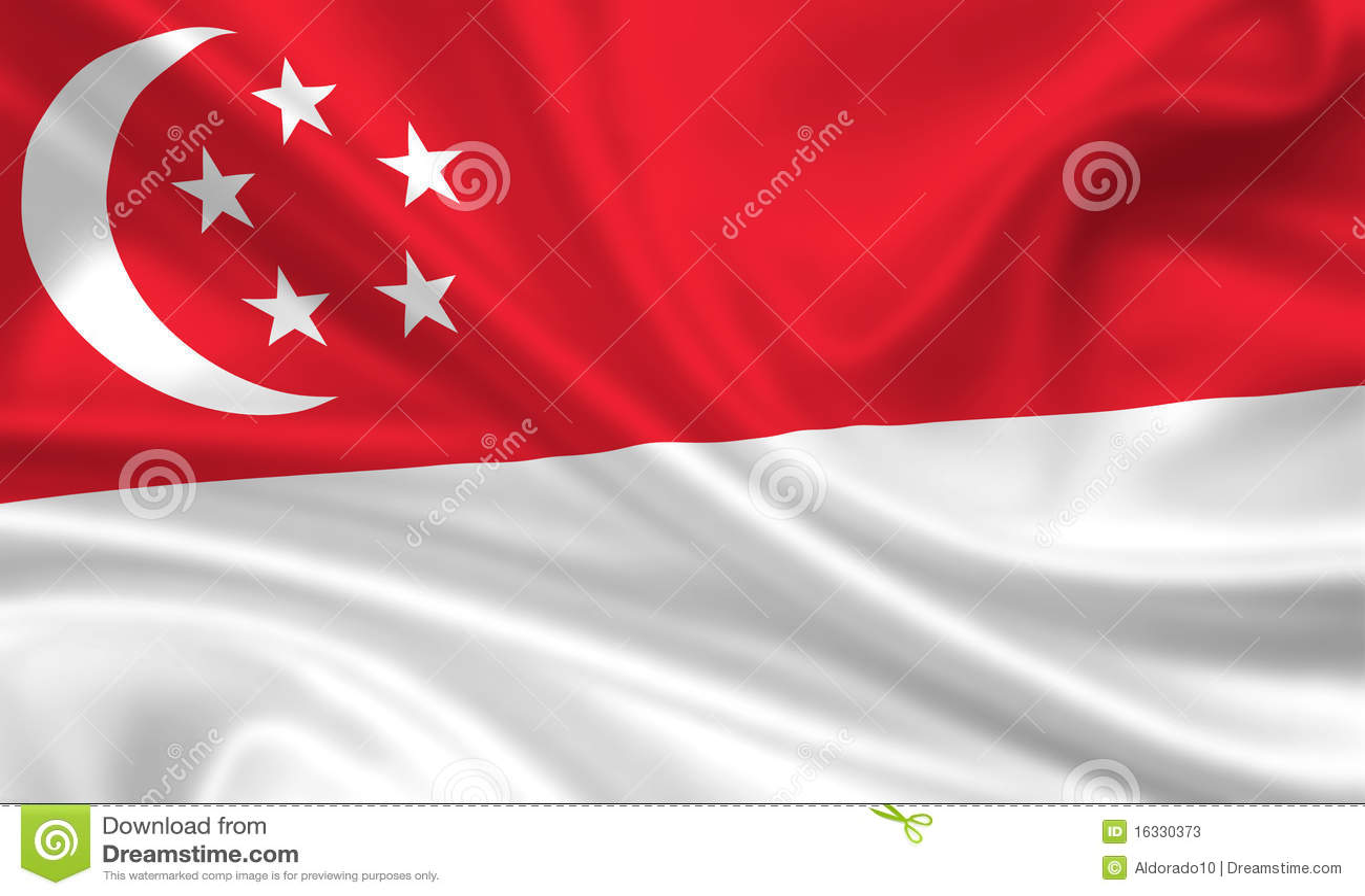 标志新加坡