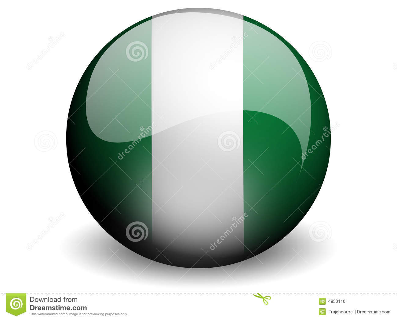 标志来回的尼日利亚