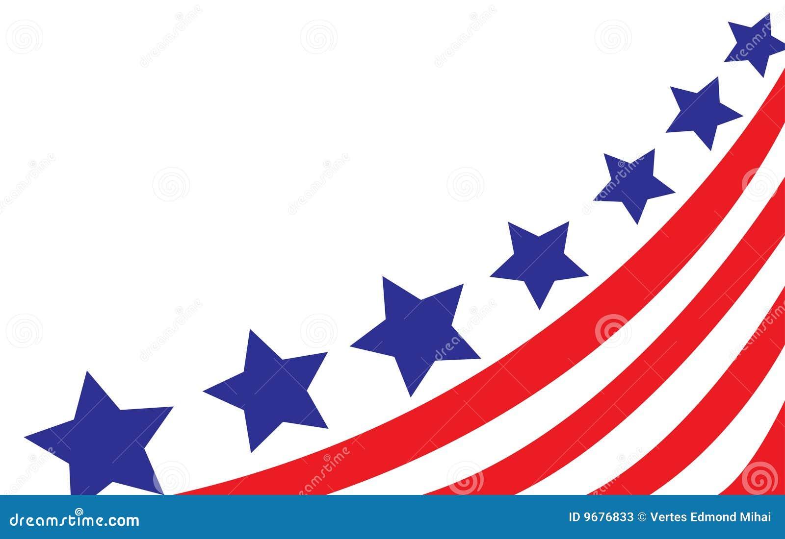 标志样式美国向量白色.
