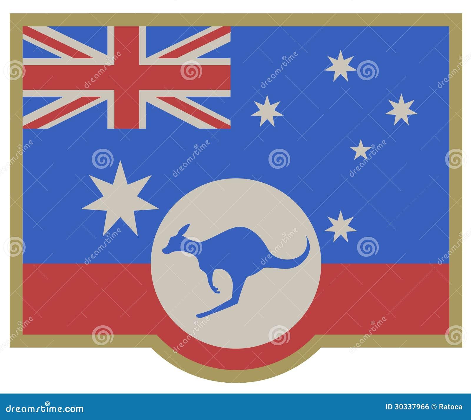 标志澳大利亚高雅