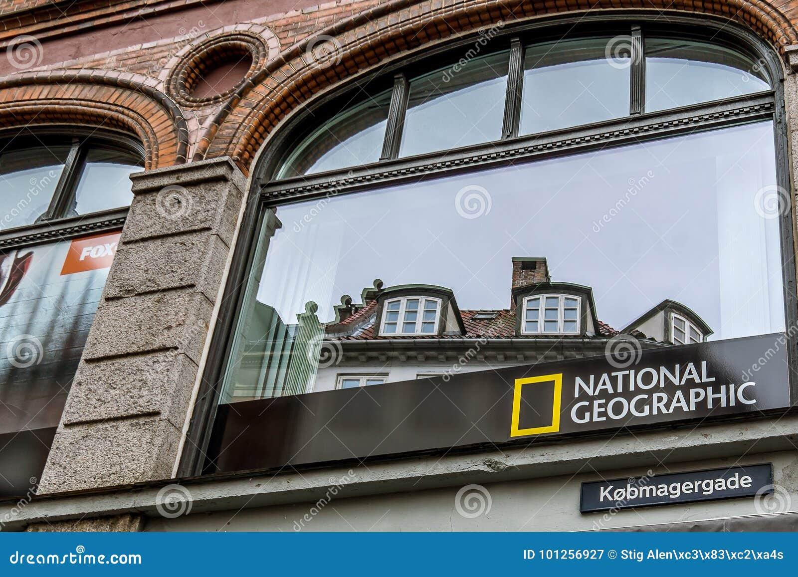标志的国际公司全国地理