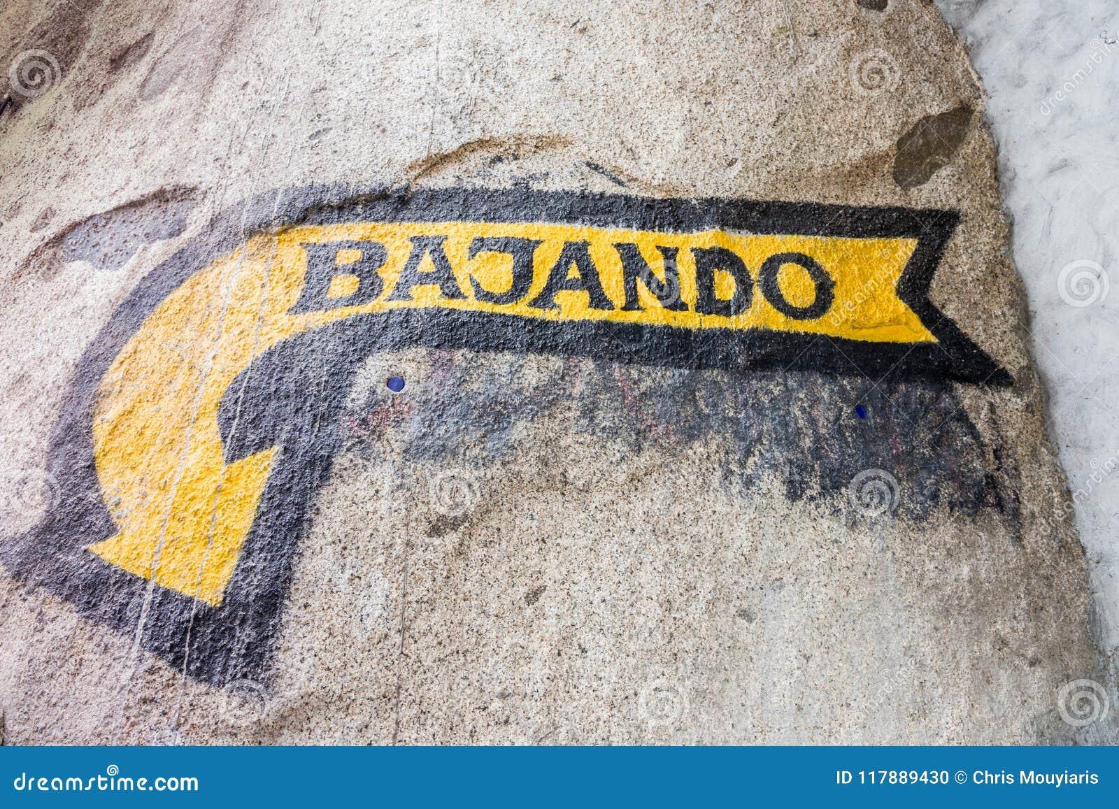 标志的看法说下来用西班牙语