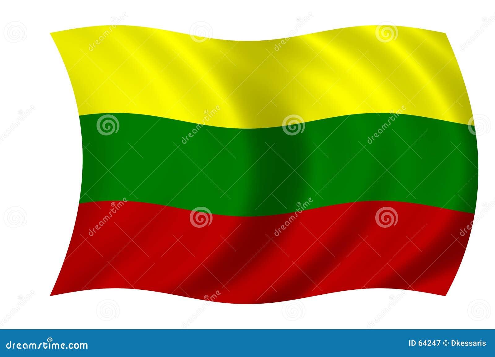 标志立陶宛语