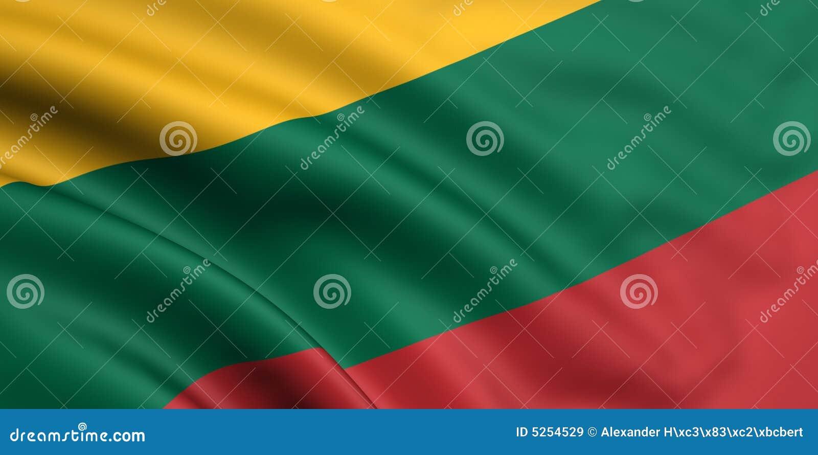 标志立陶宛