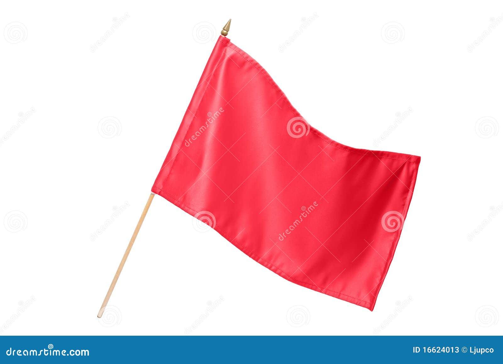 标志红色丝绸