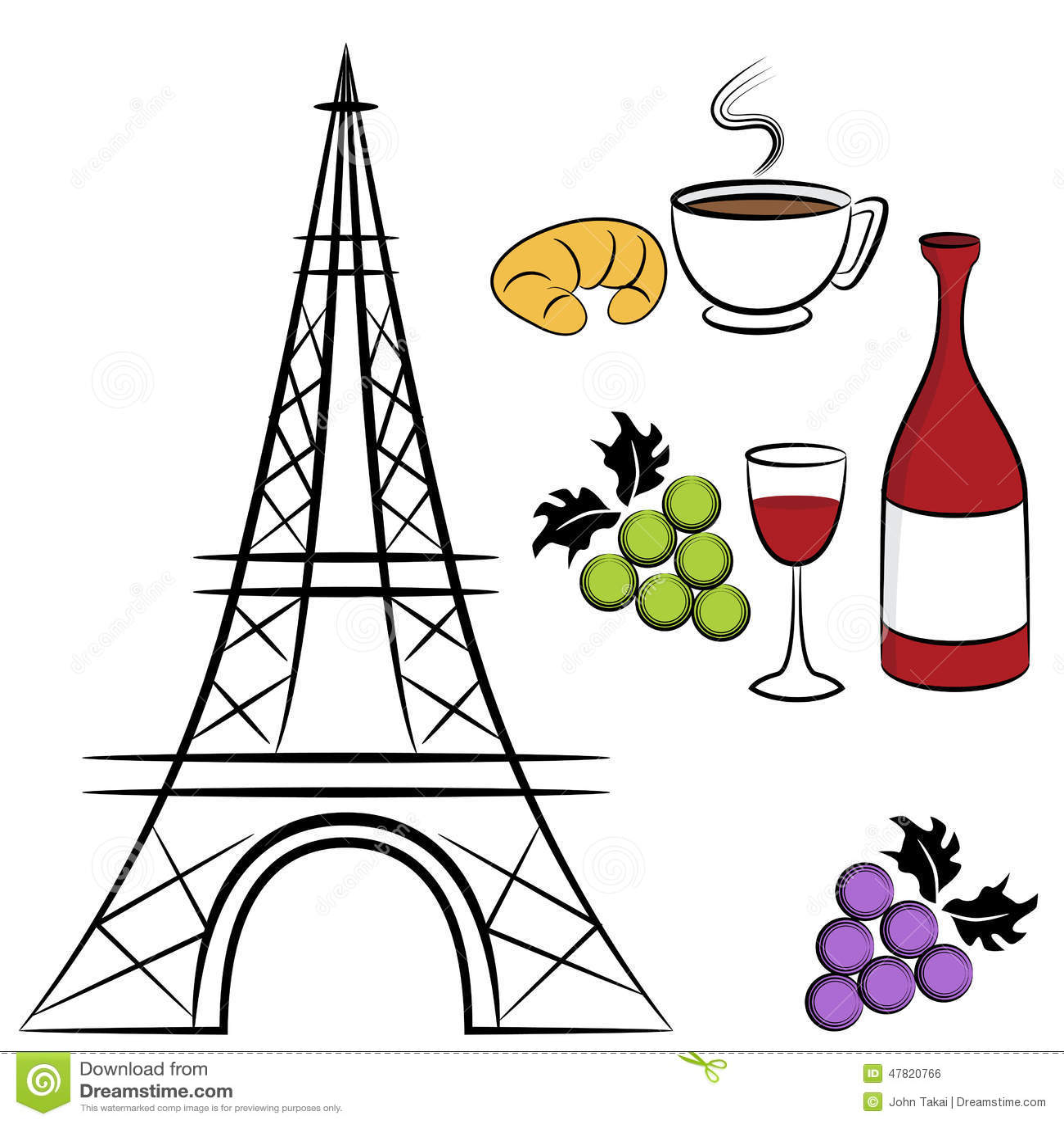 巴黎标志的图象.图片