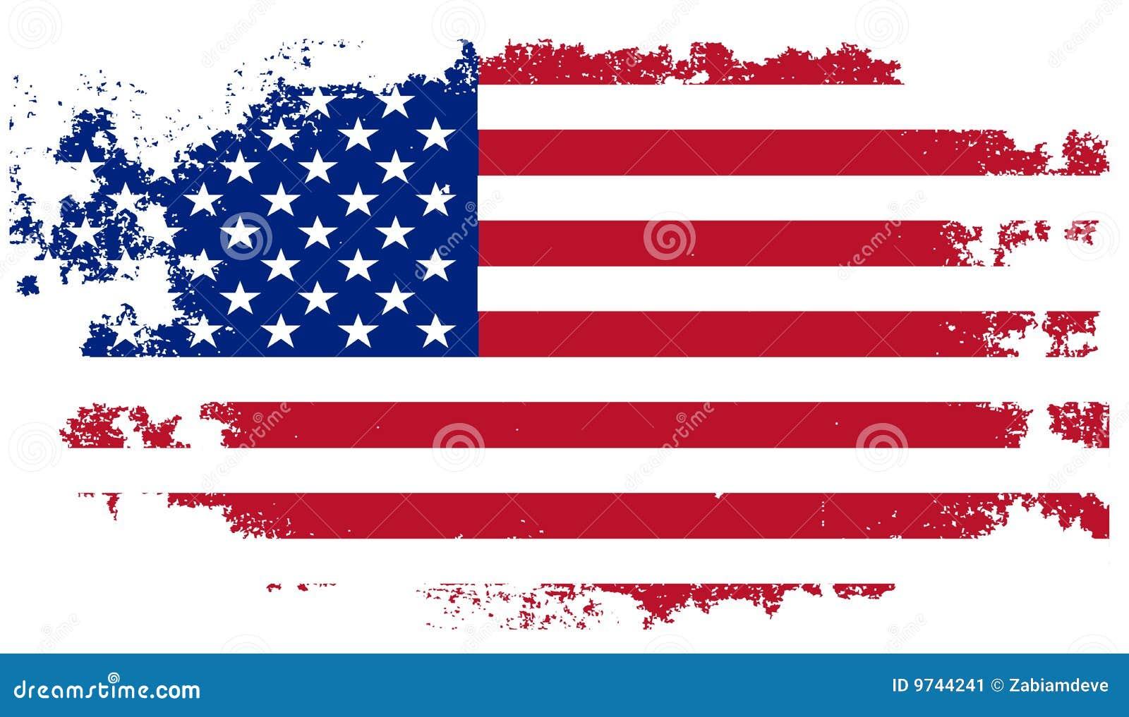 标志grunge美国