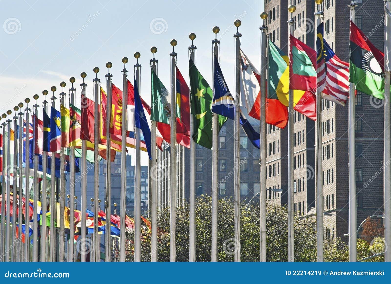 标记联合国