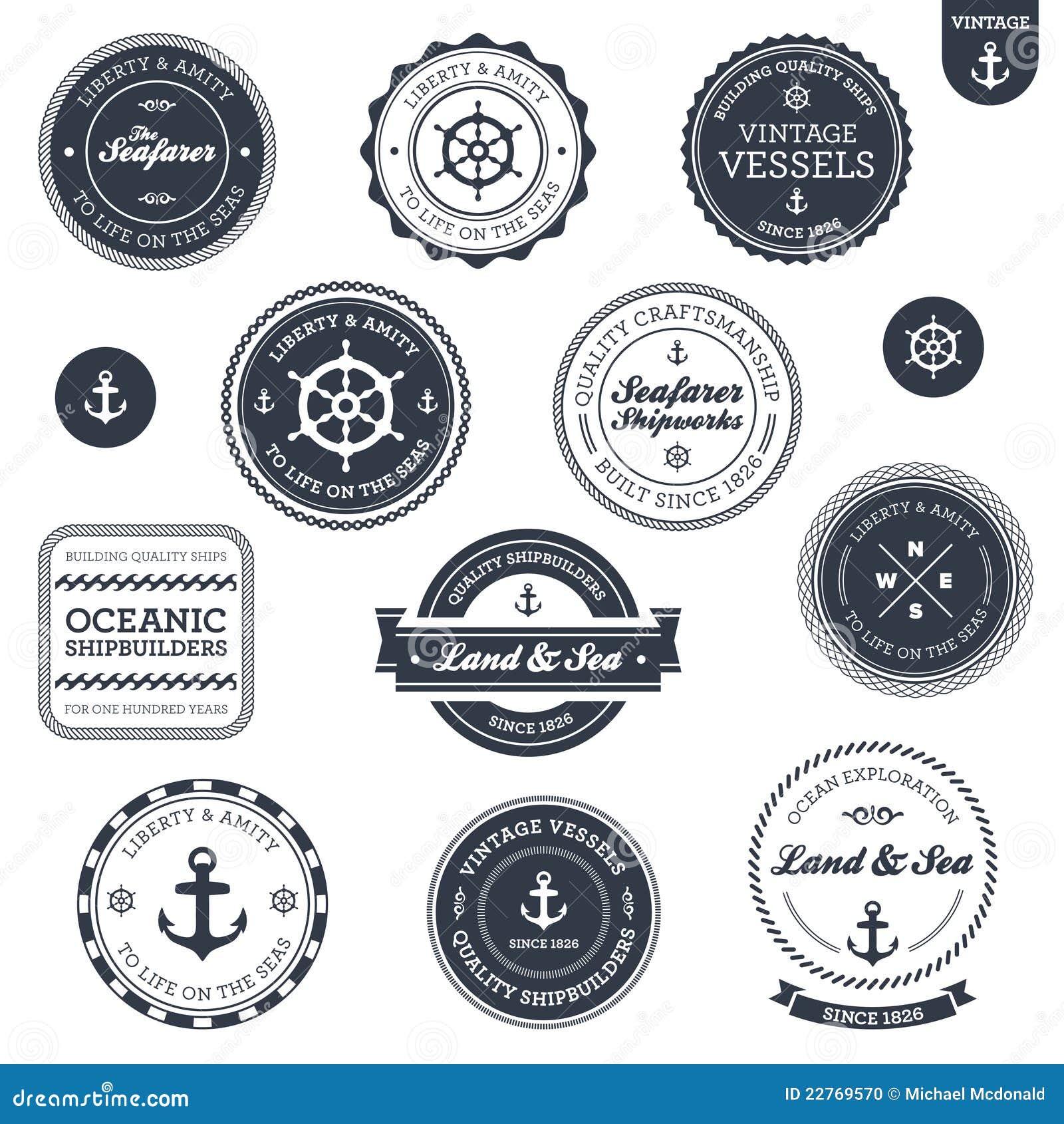标记船舶葡萄酒