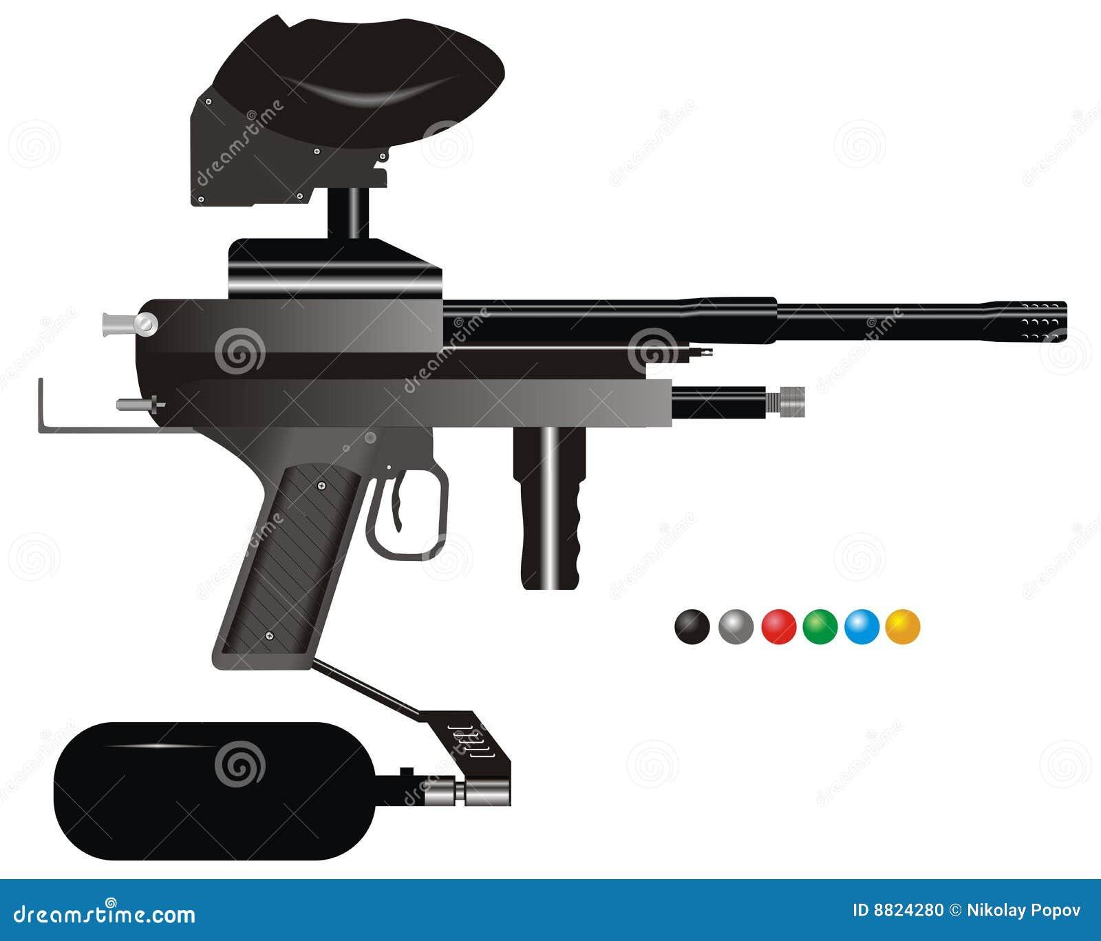 标记paintball
