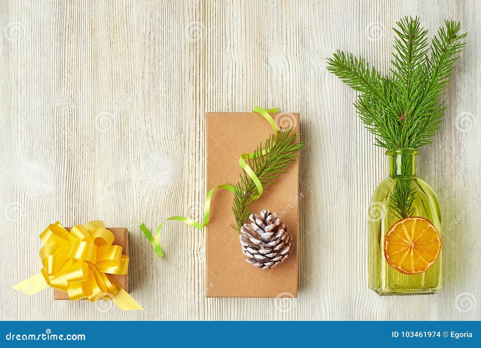 树枝,锥体,绿色瓶, ora的圣诞节汇集