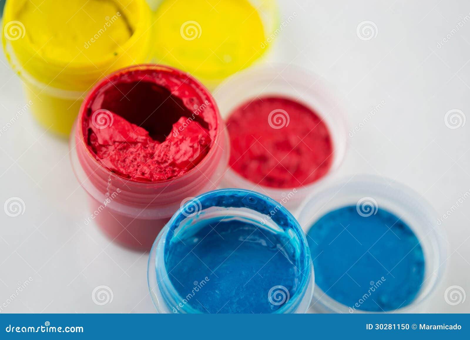 树胶水彩画颜料油漆