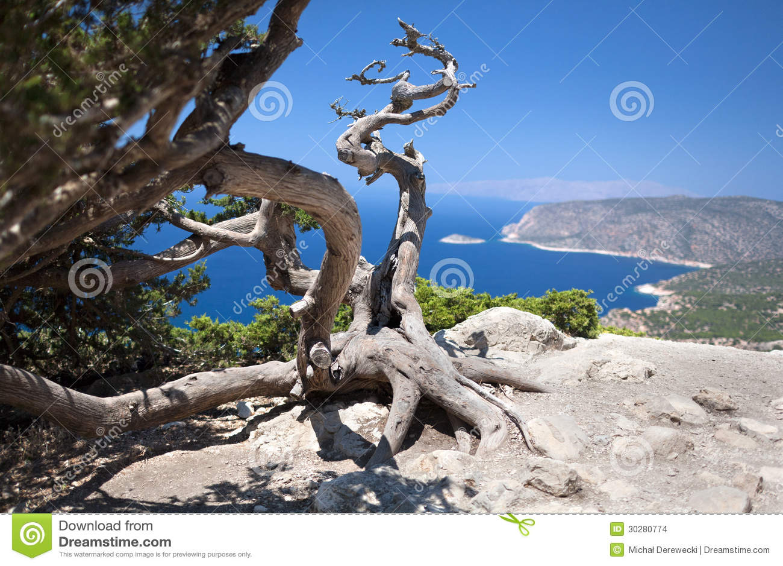 希腊罗得岛Monolithos