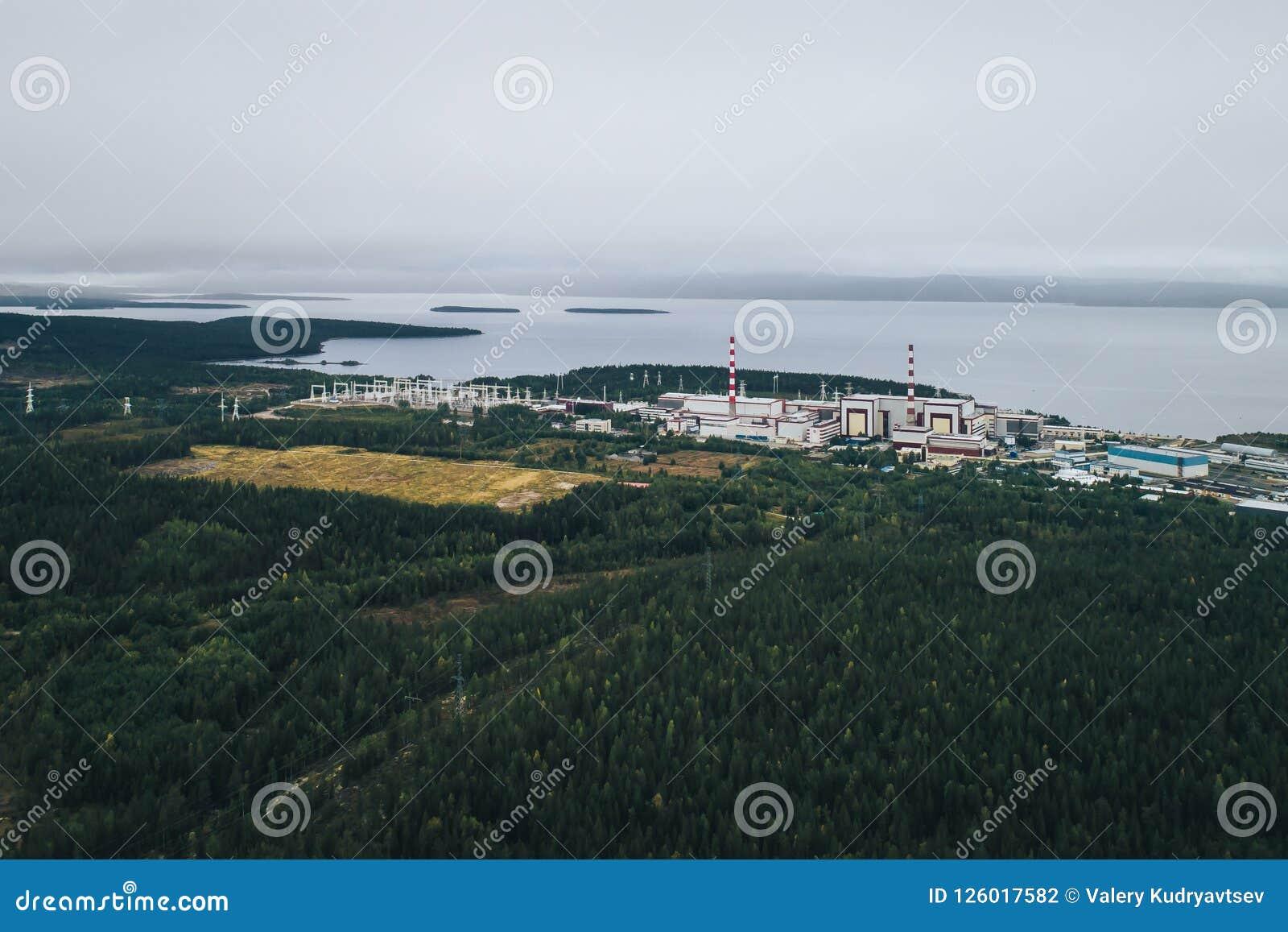 核电站装备一个原子反应堆