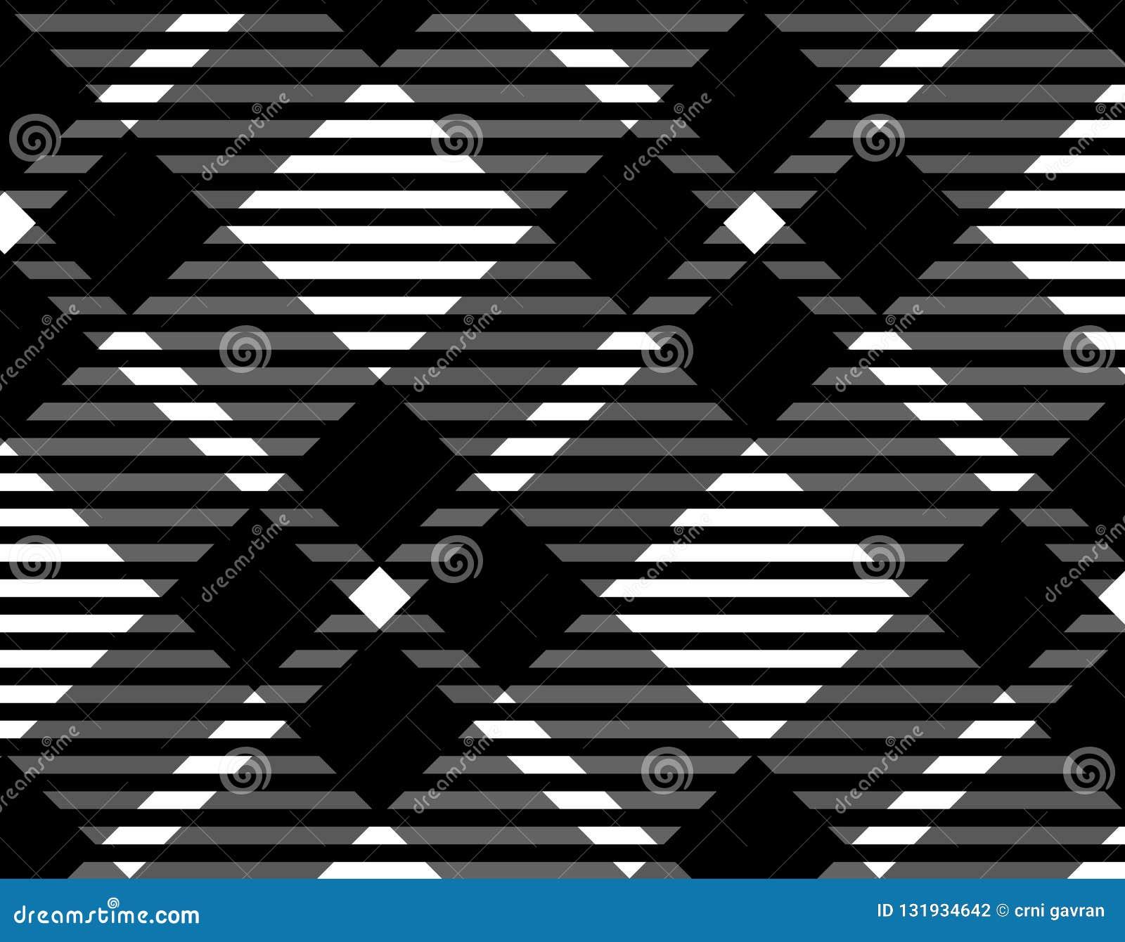 格子花呢披肩的,纺织品文章的,传染媒介例证桌布黑白方格花布样式背景 Eps10