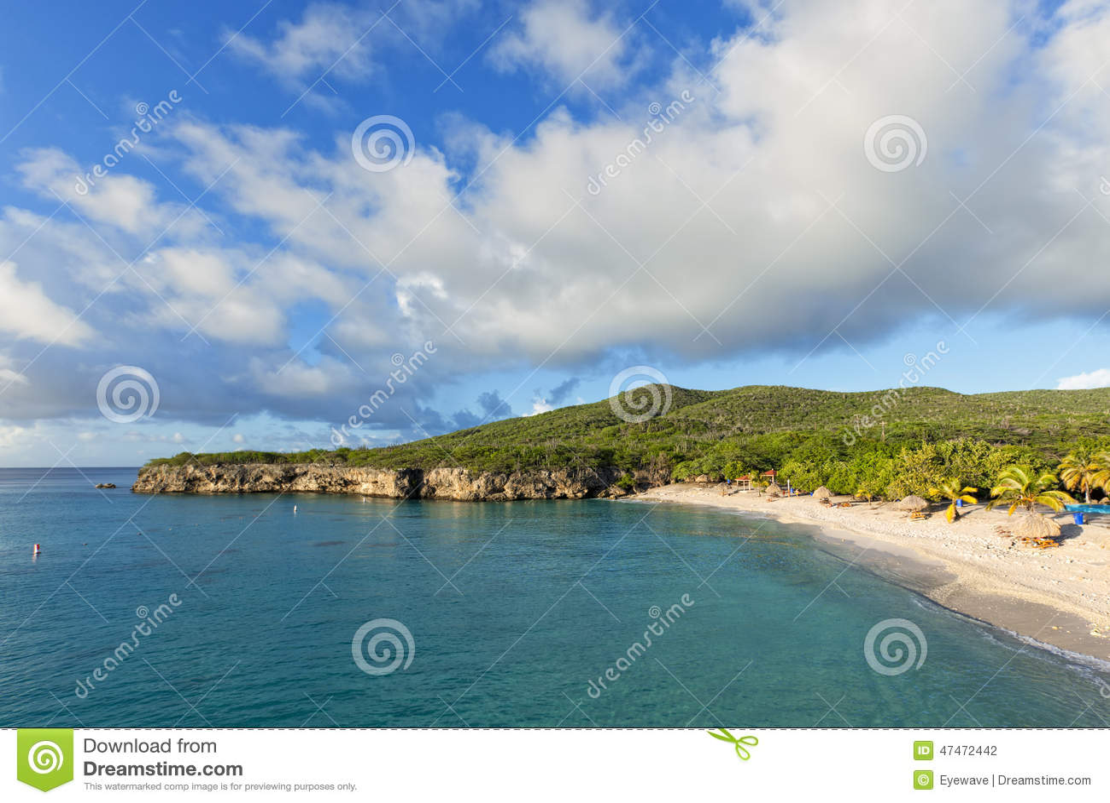 格罗特Knip海滩或Knip Grandi,库拉索岛