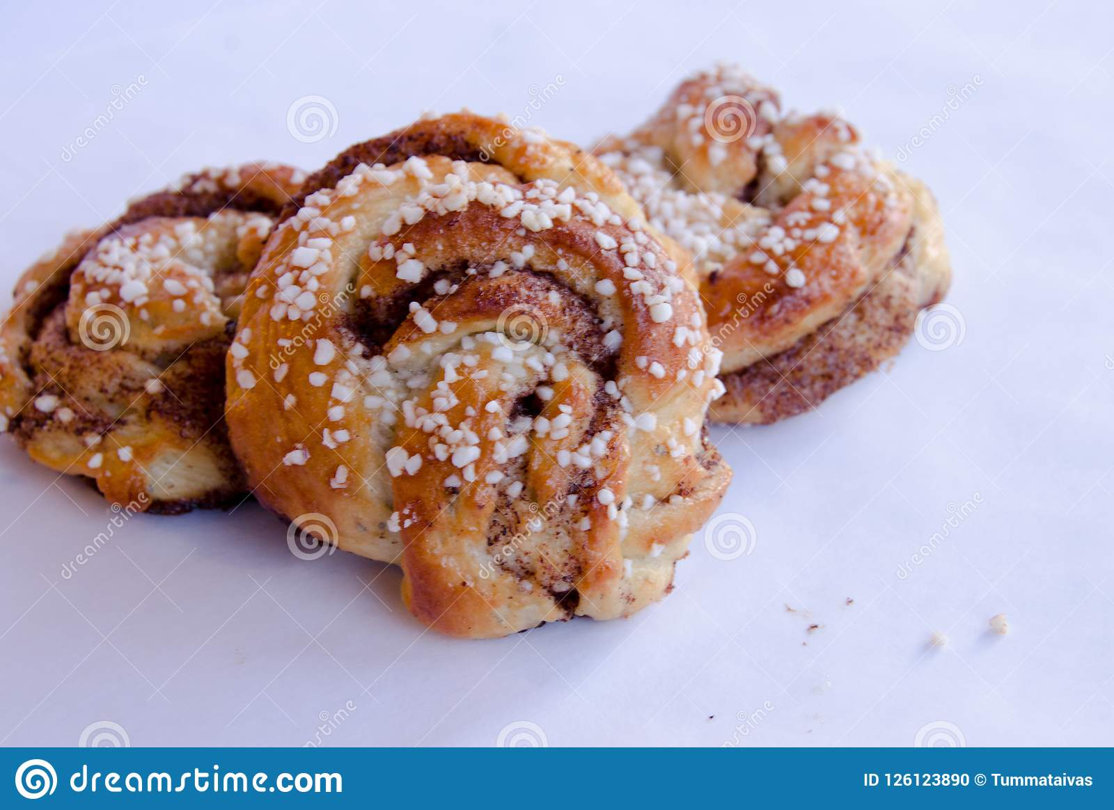 桂香小圆面包