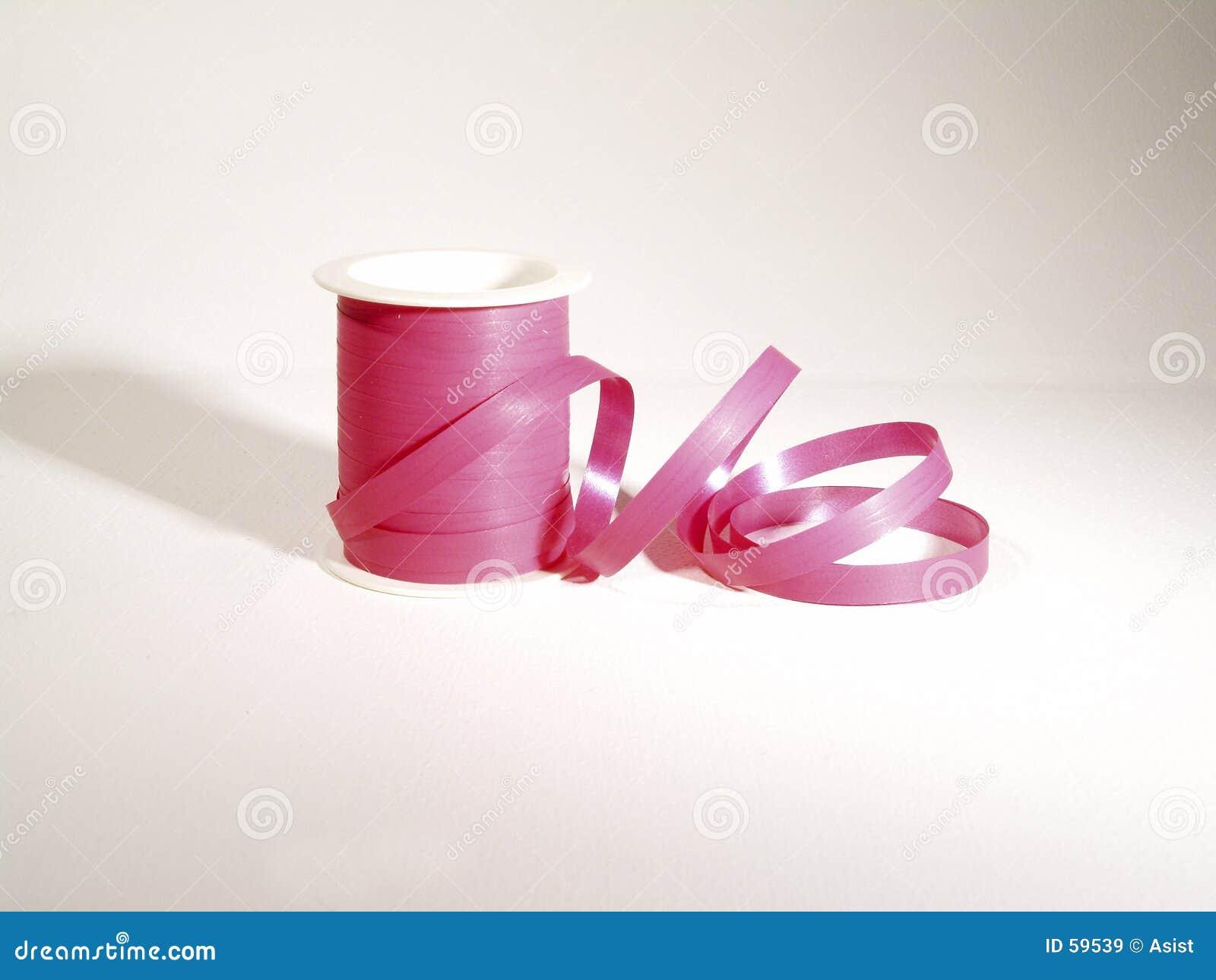 桃红色丝带