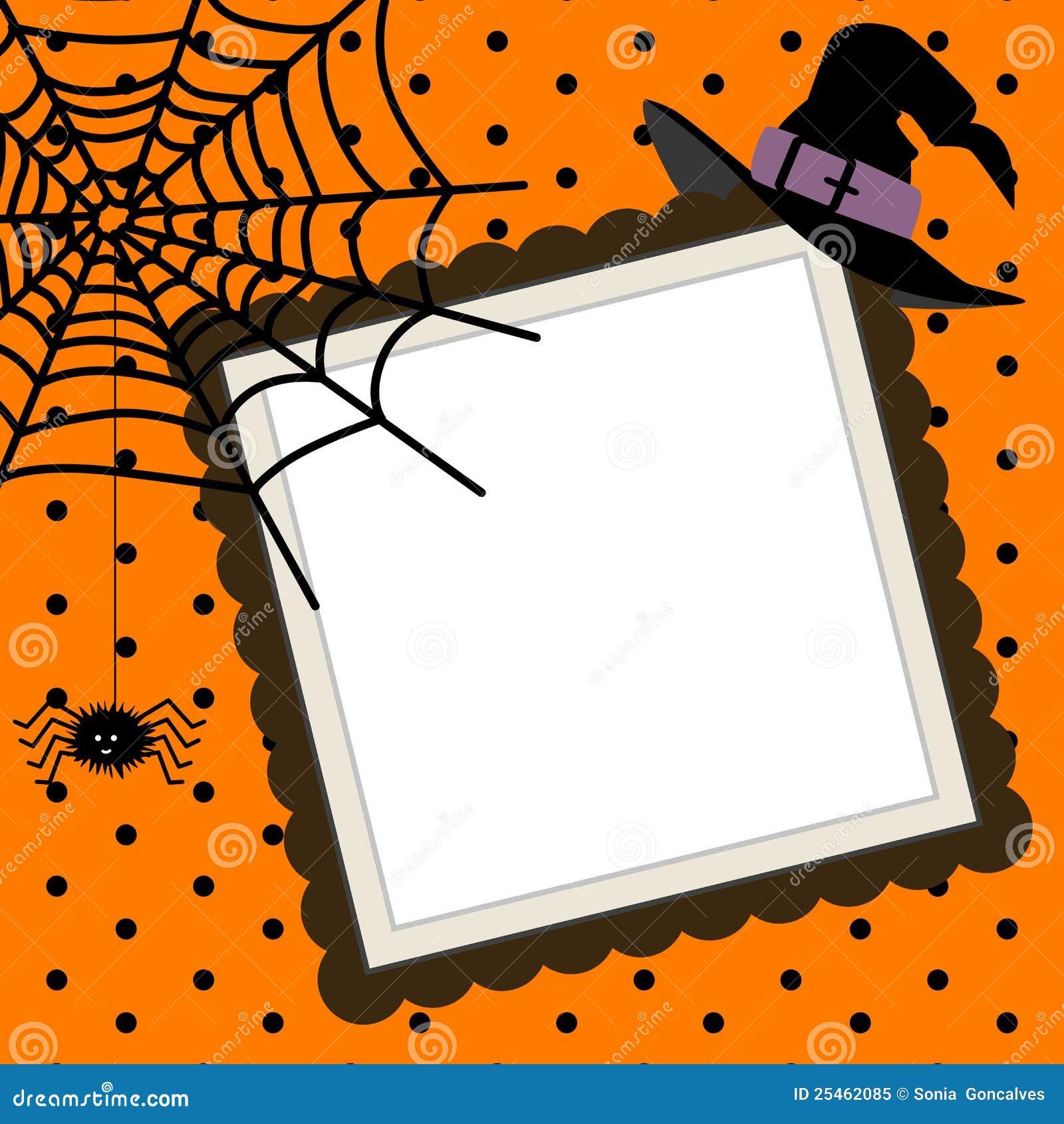 构成万圣节表示可升级的蜘蛛矢量万维网巫婆的帽子图象.图片