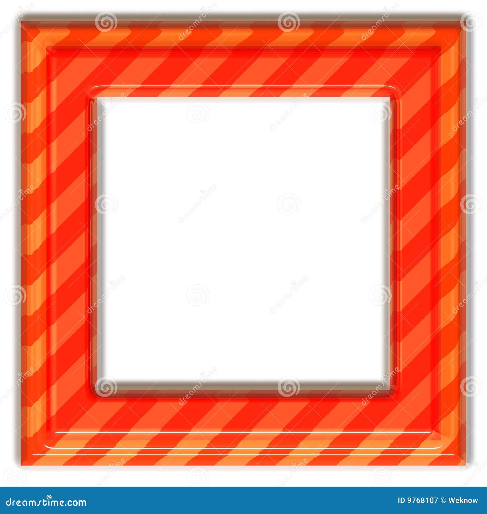 框架桔子正方形图片