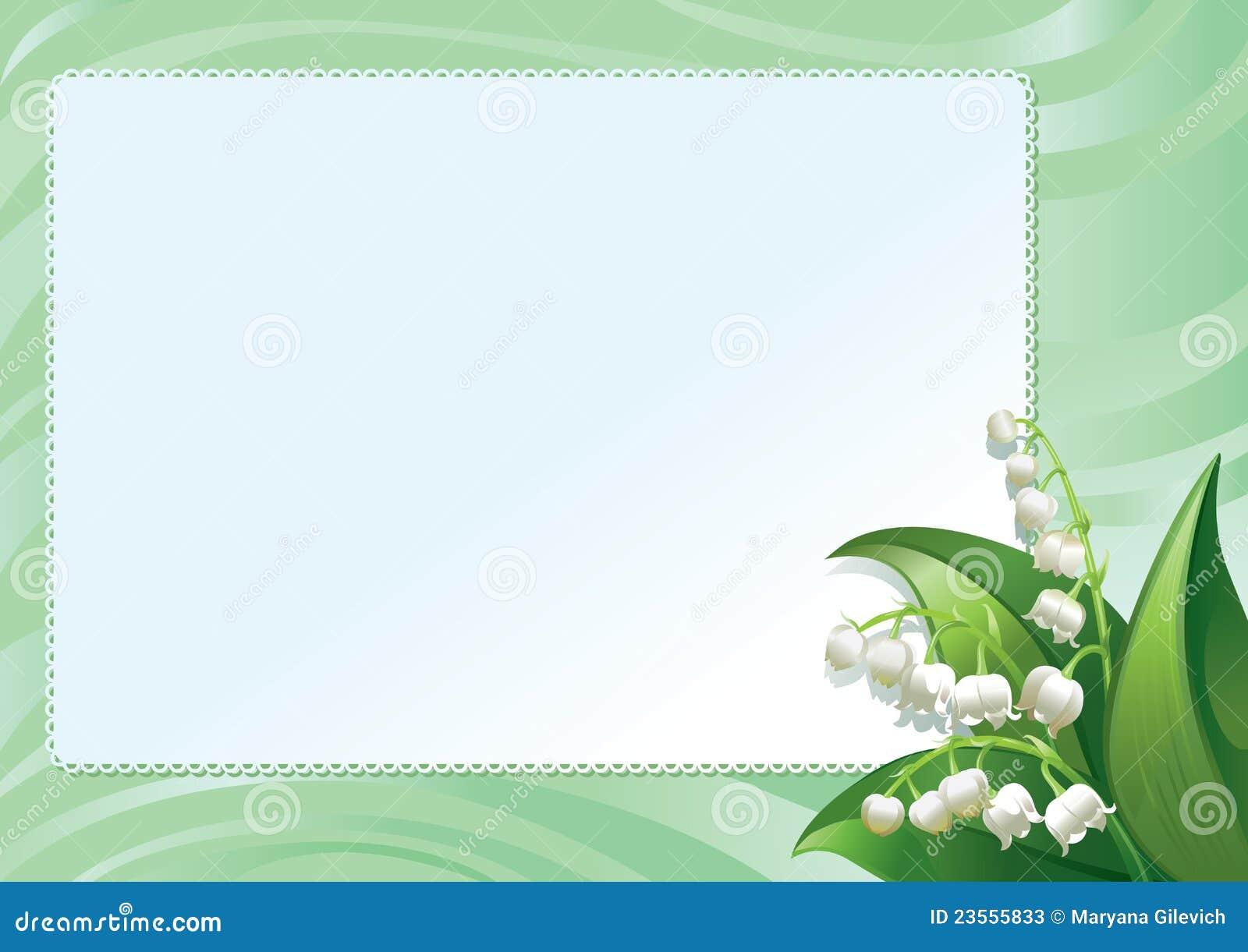 框架百合春天图片