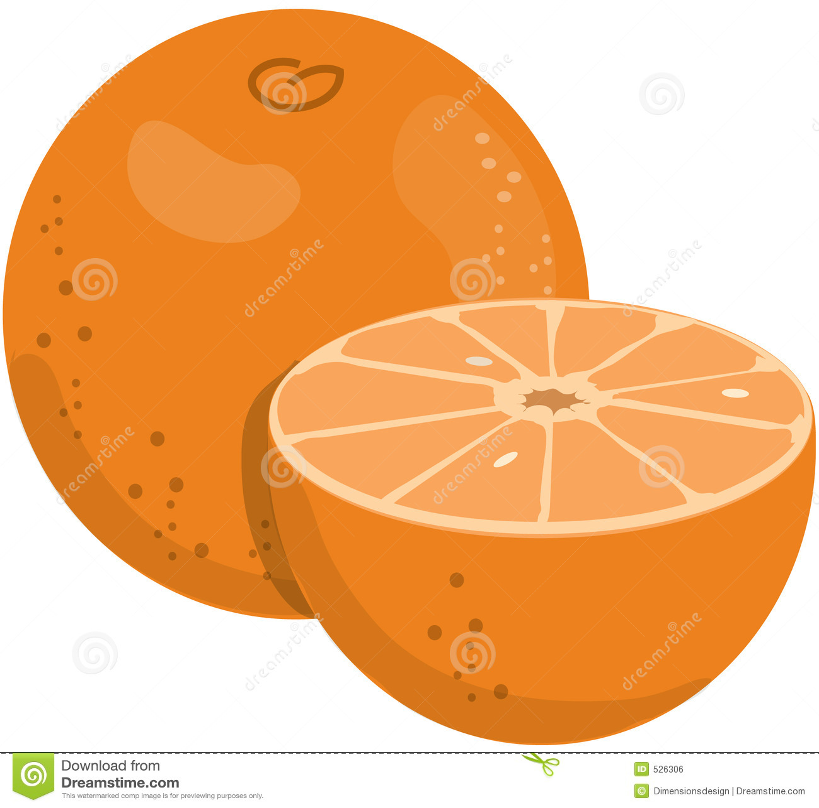 Download 桔子 库存例证. 插画 包括有 美味, 橙色, 剪切, 汁液, 空白, 对分, 许多, 点心, 果子, 食物 - 526306