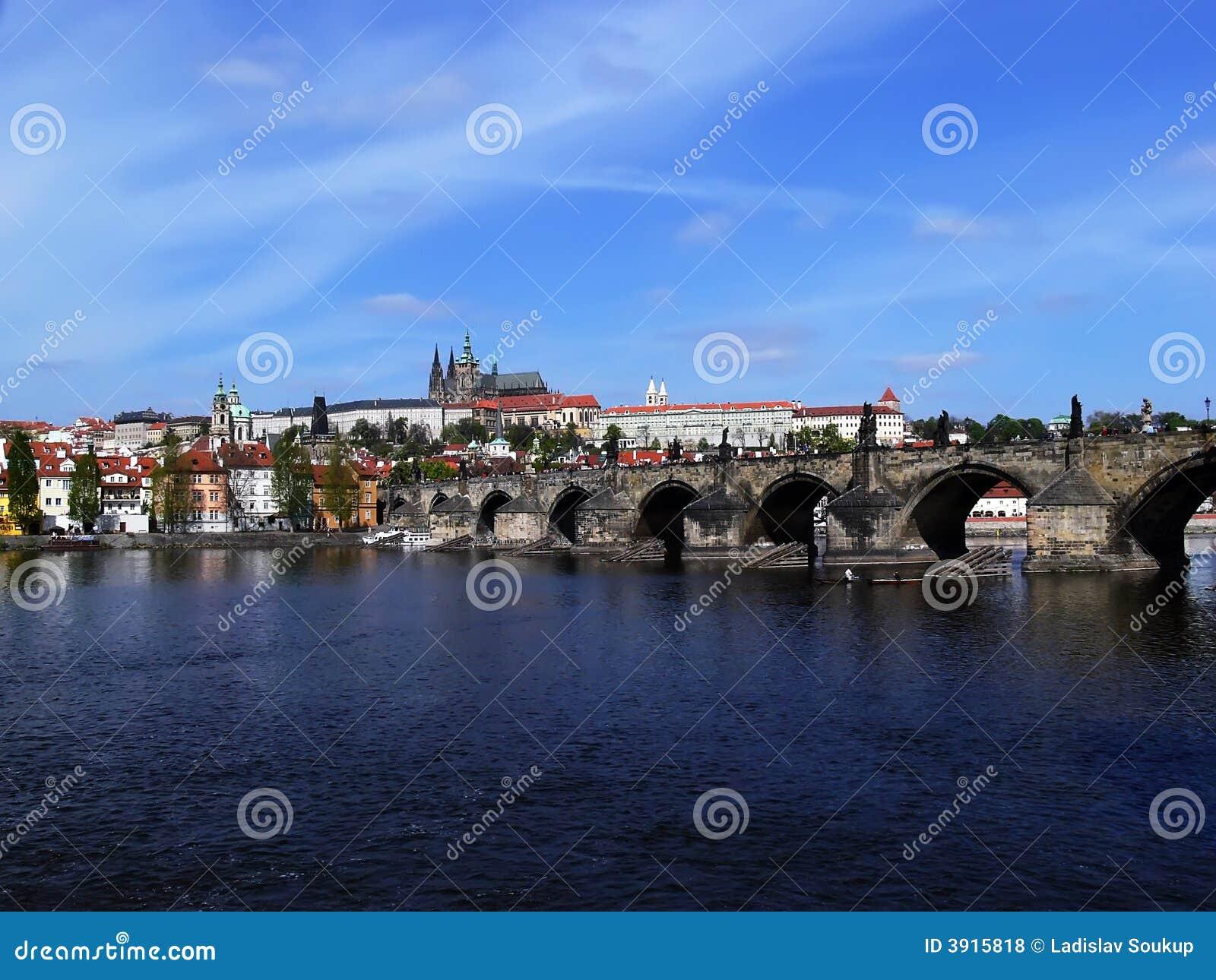 桥梁城堡查尔斯・布拉格