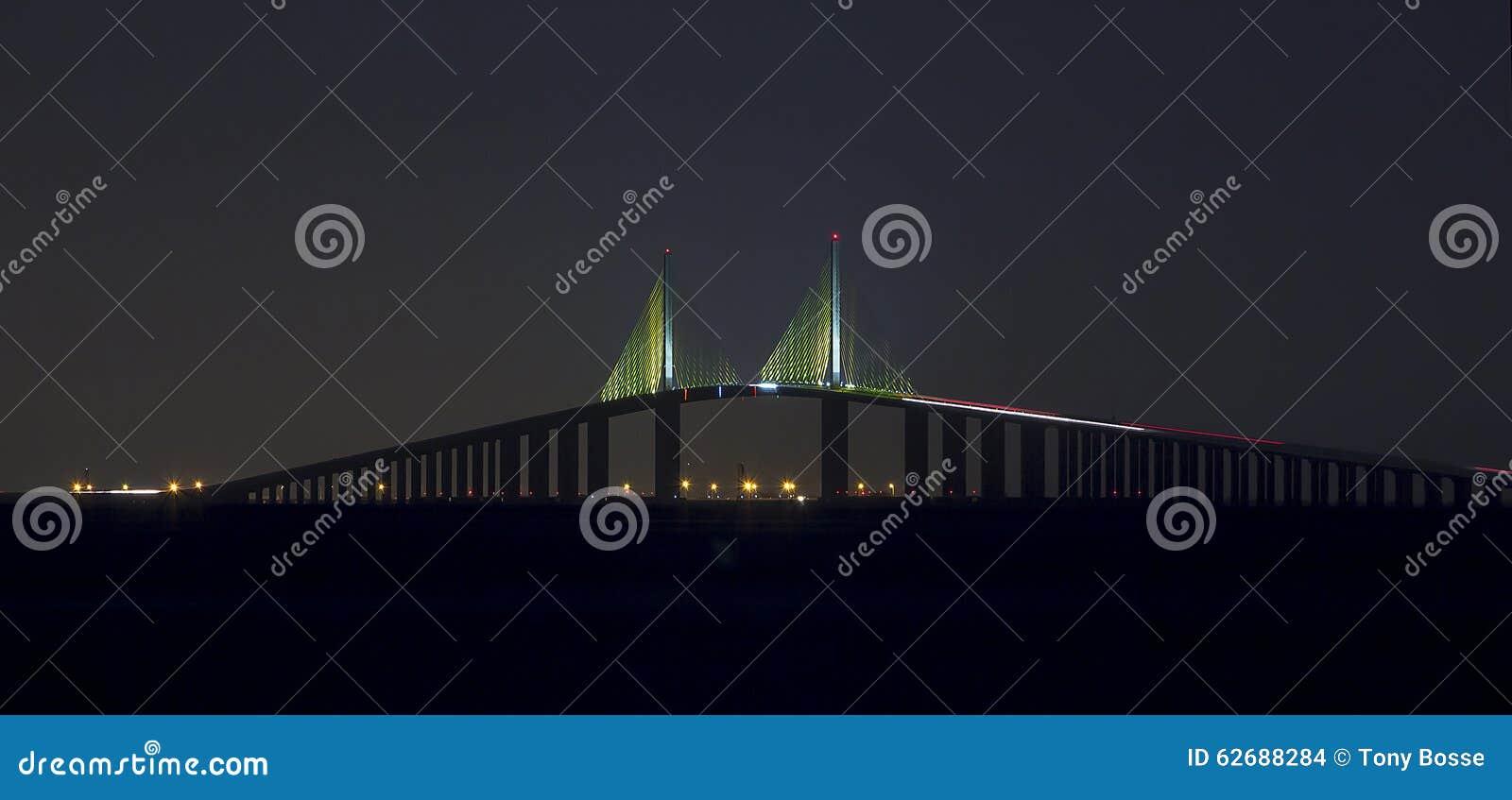 桥梁晚上skyway阳光
