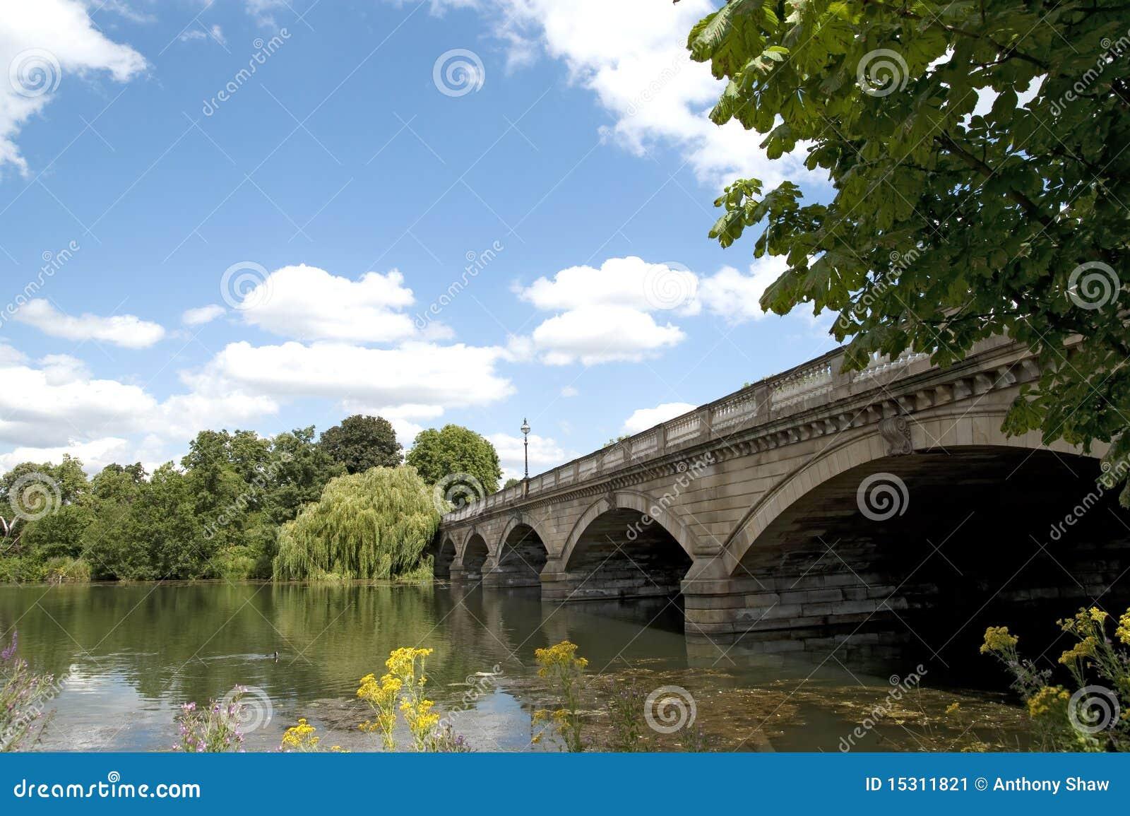桥梁海德公园蛇纹石