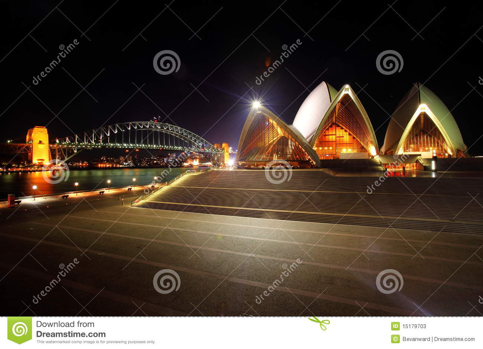 桥梁港口房子歌剧悉尼