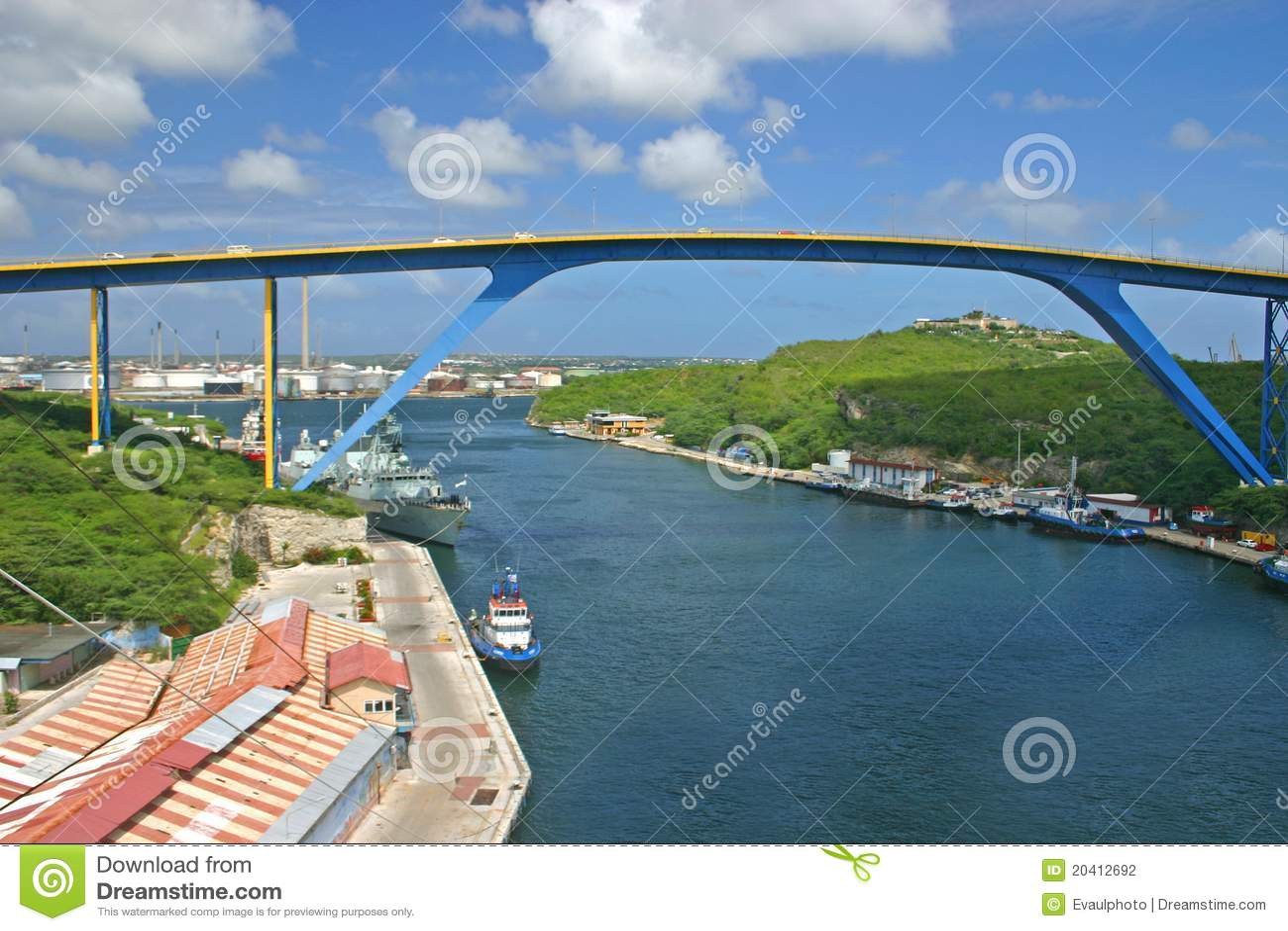 桥梁curacao juliana