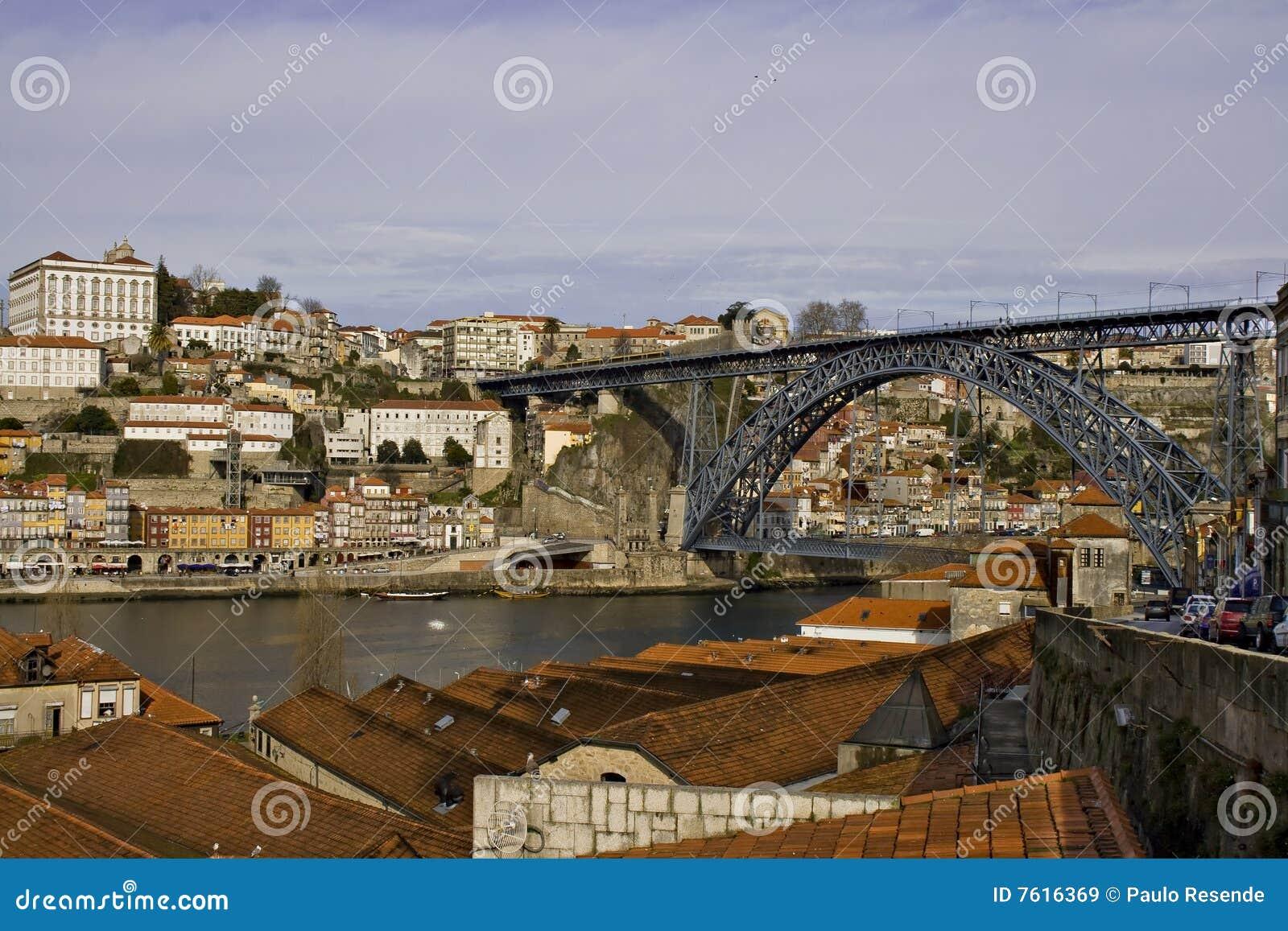 桥梁d luis波尔图视图