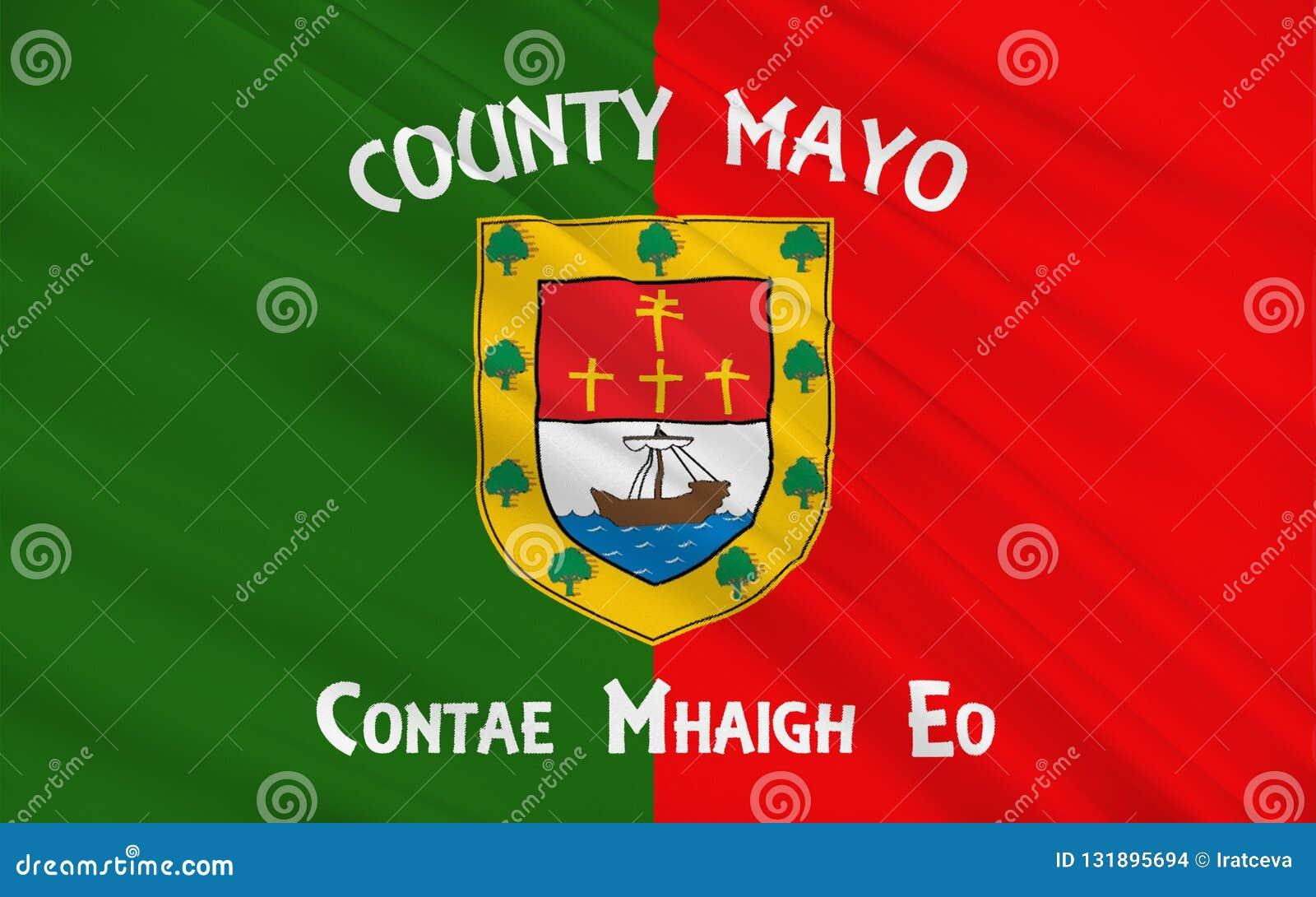 梅奥郡旗子是一个县在爱尔兰