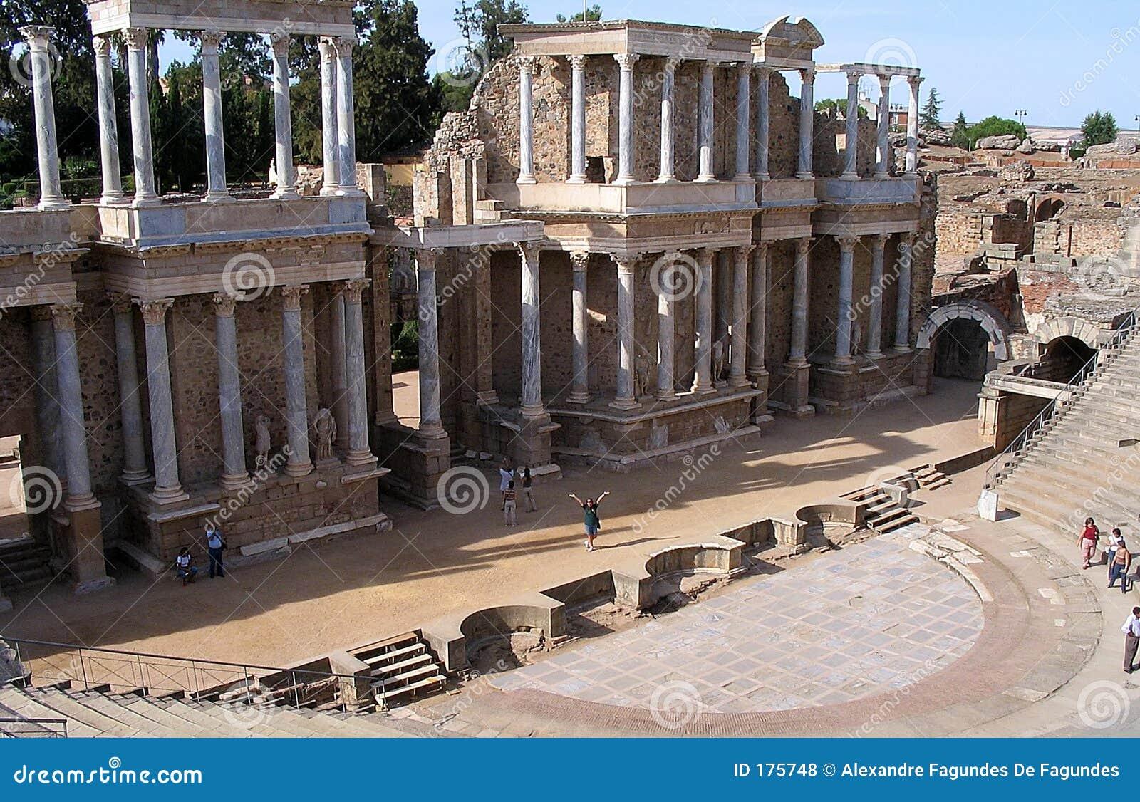 梅里达罗马剧院