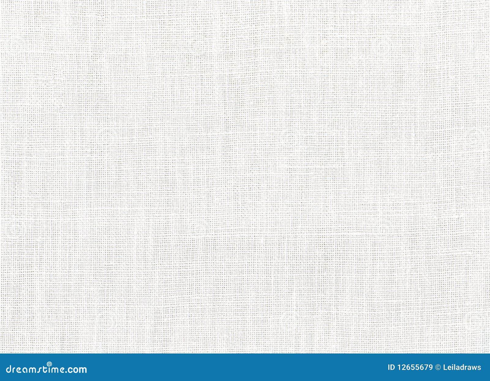 棉织物白色