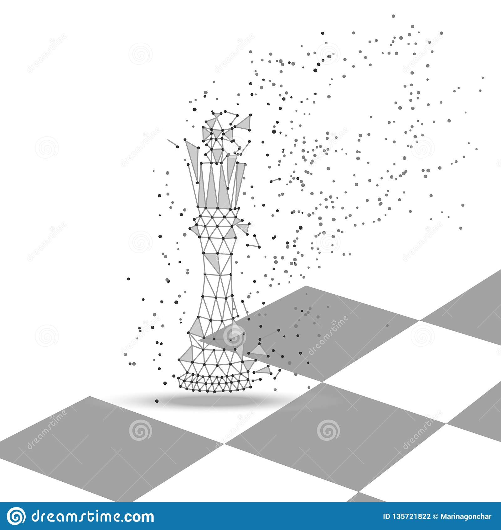 棋国王多角形形象