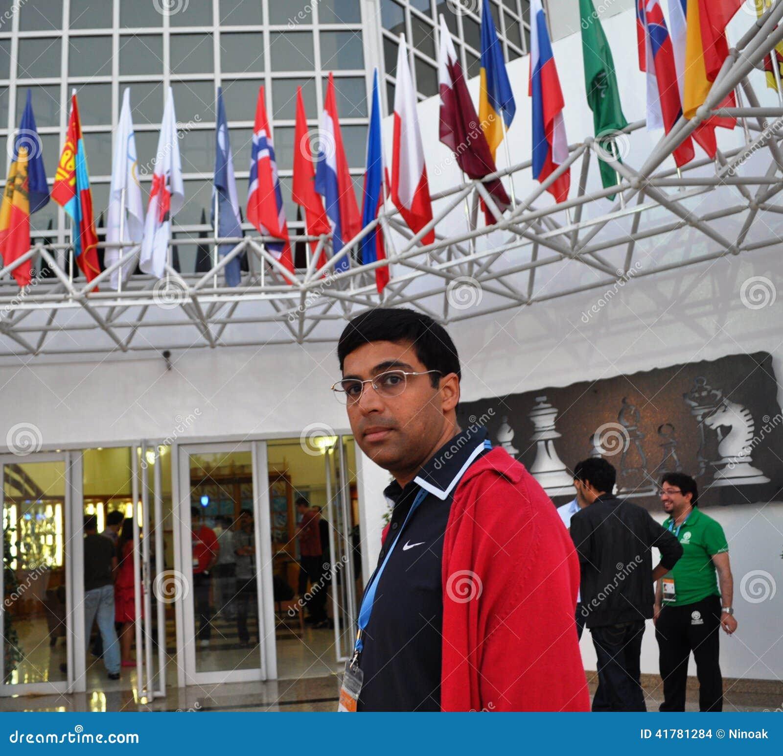 印地安大师在喝酒的铜牌以后的阿南德viswanathan在迅速棋世界冠军