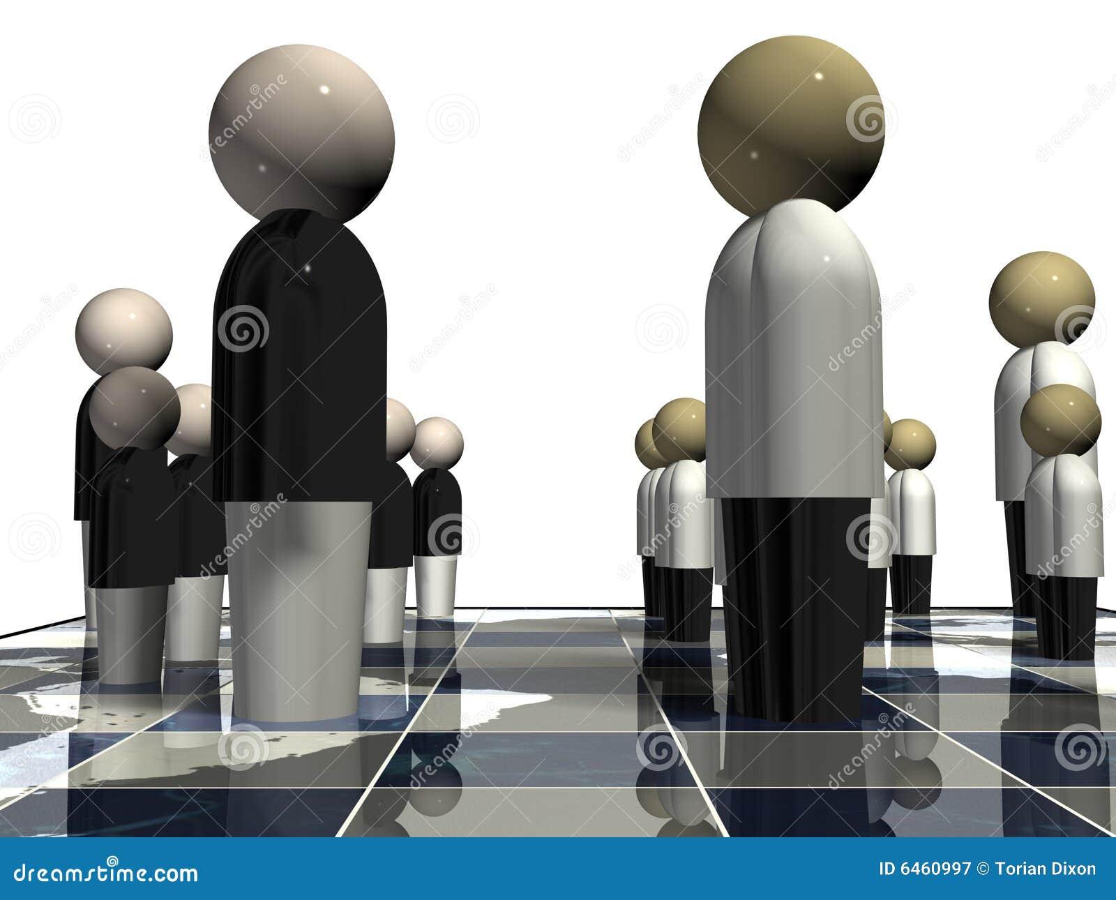 棋对峙世界