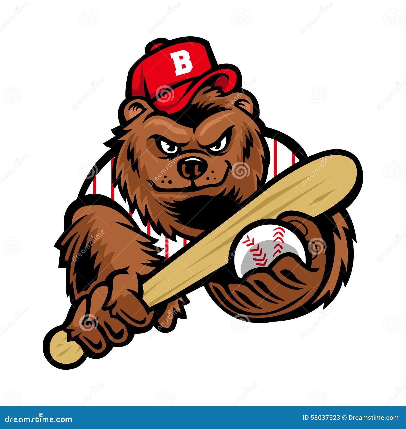 棒球熊吉祥人