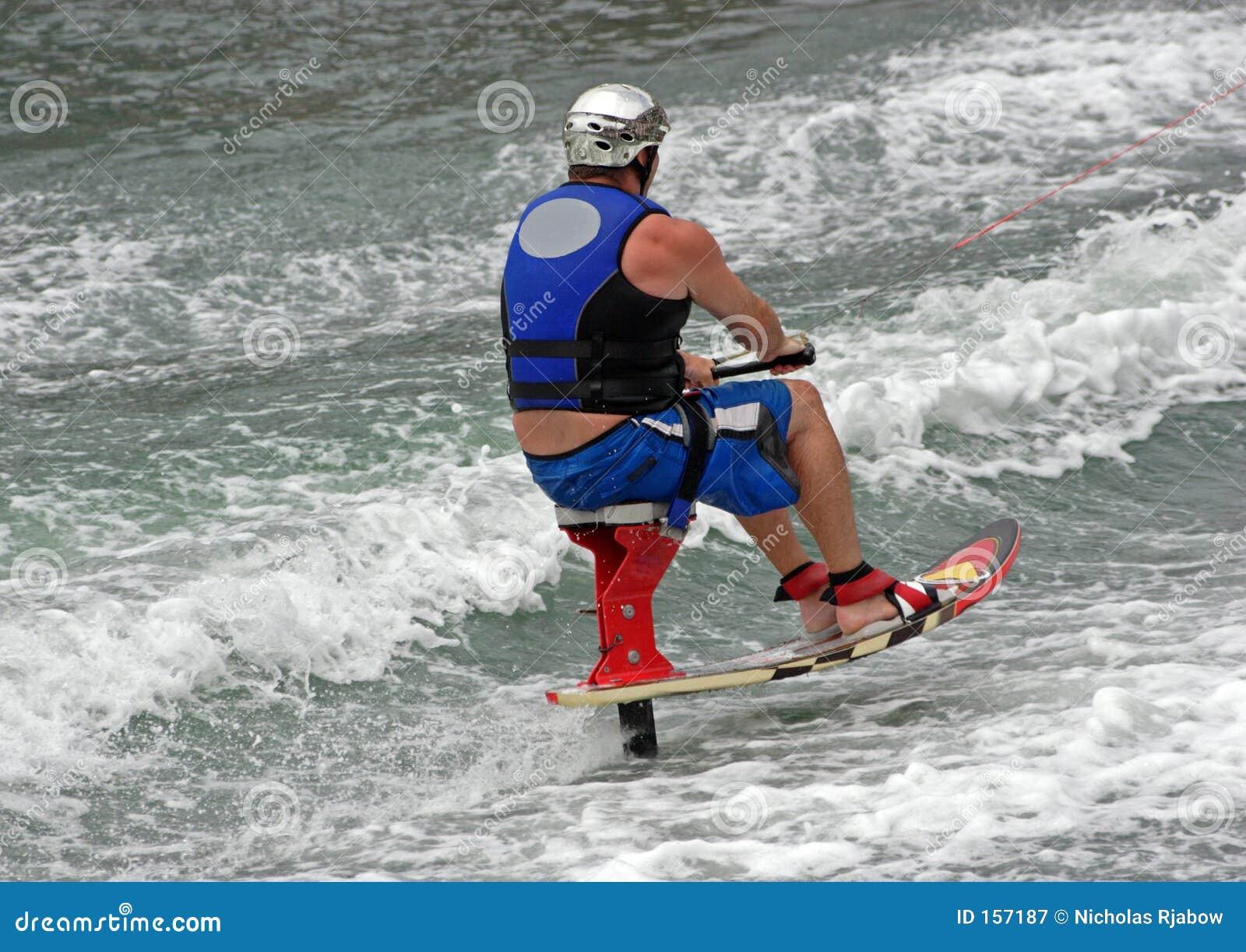 椅子滑雪者
