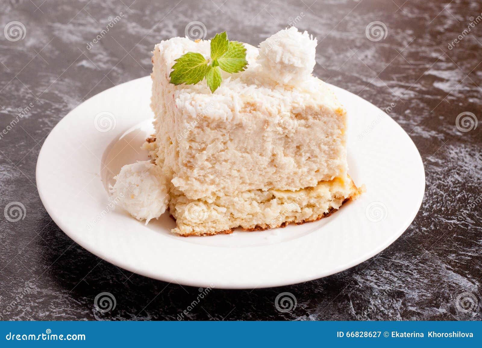 椰子蛋糕部分